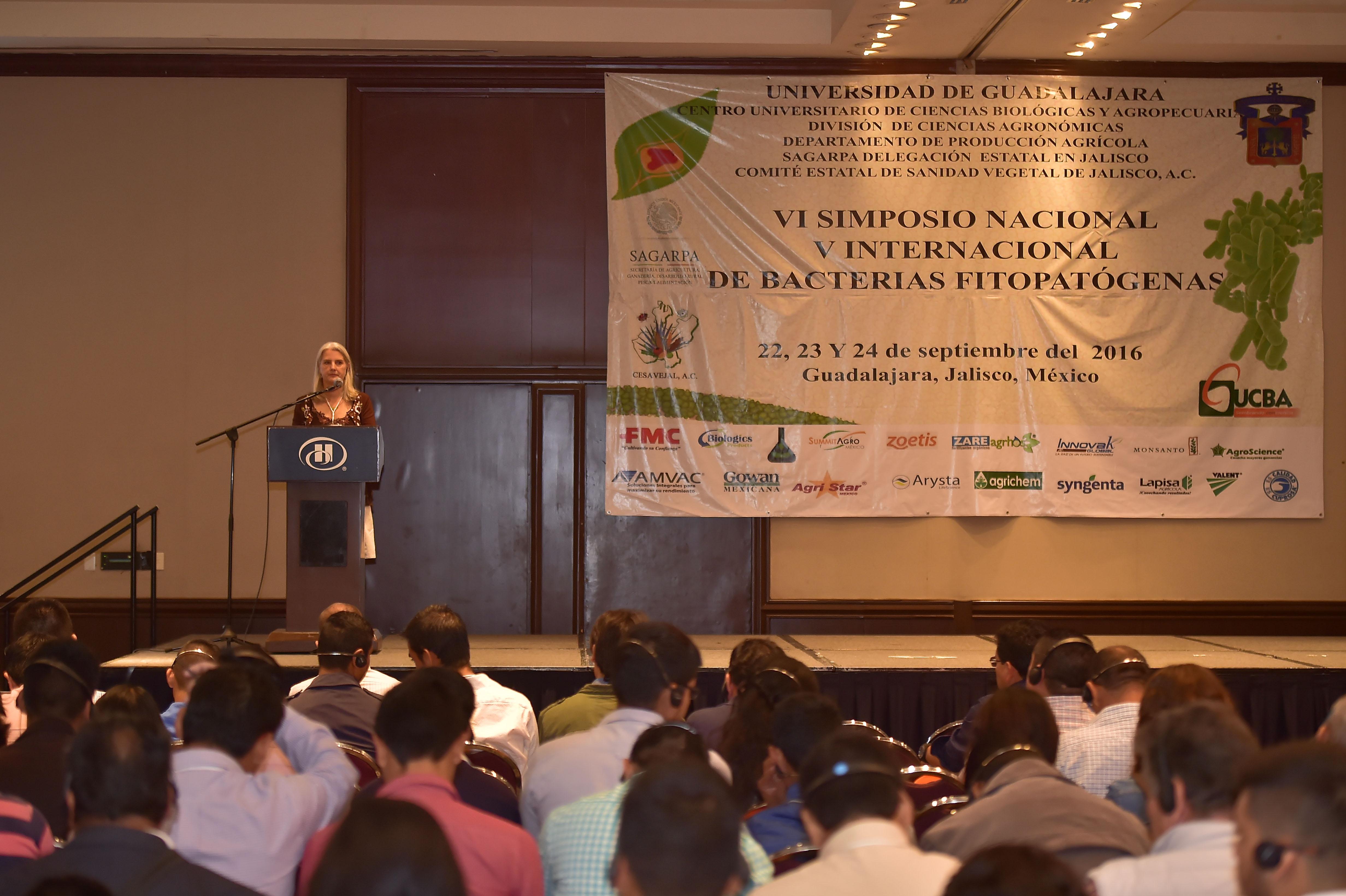 VI Simposio Nacional y V Internacional de Bacterias Fitopatógenas, y II de Bacterias Benéficas de las Plantas,