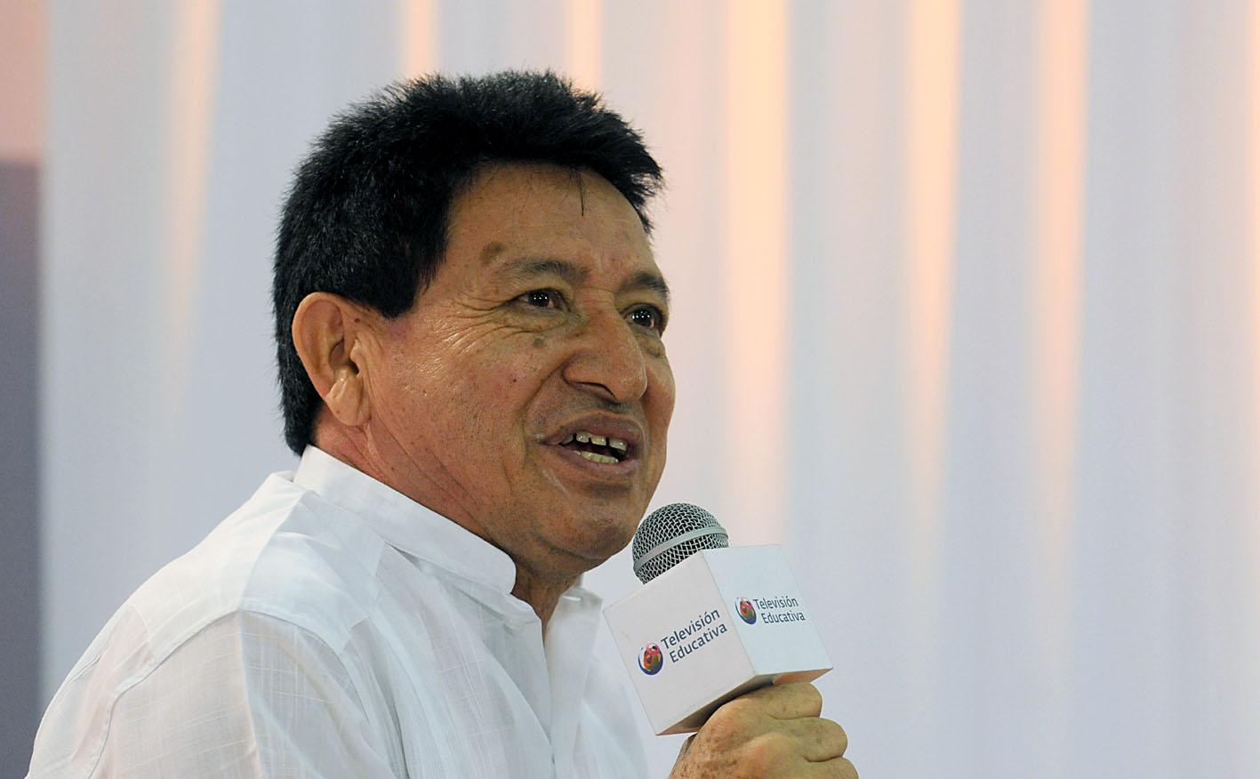 Jorge Miguel Cocom Pech, escritor mexicano, ganador del Premio