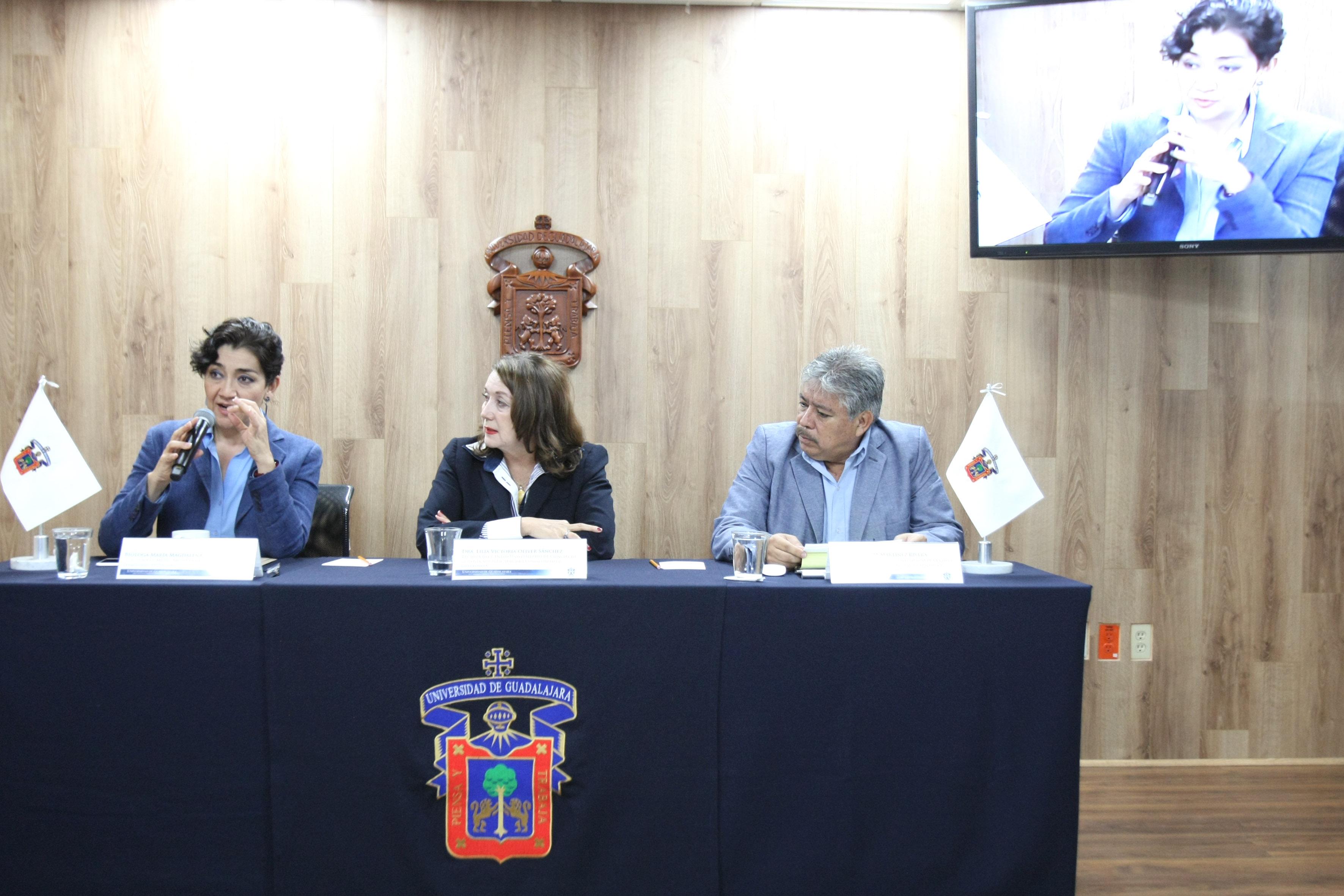 La bióloga María Magdalena Ruiz Mejía