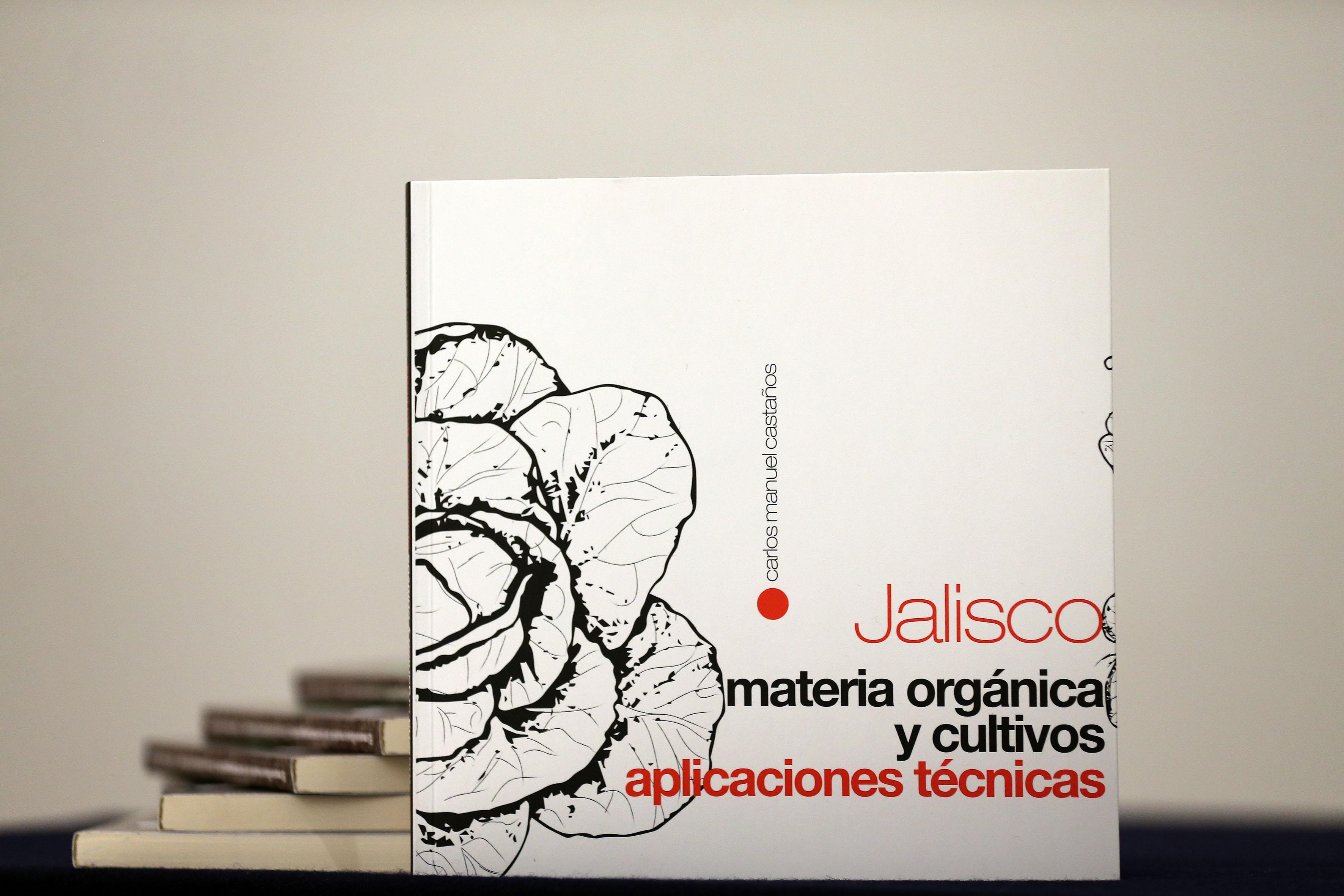 """Portada del libro """"Jalisco, materia orgánica y cultivos, aplicaciones técnicas"""""""