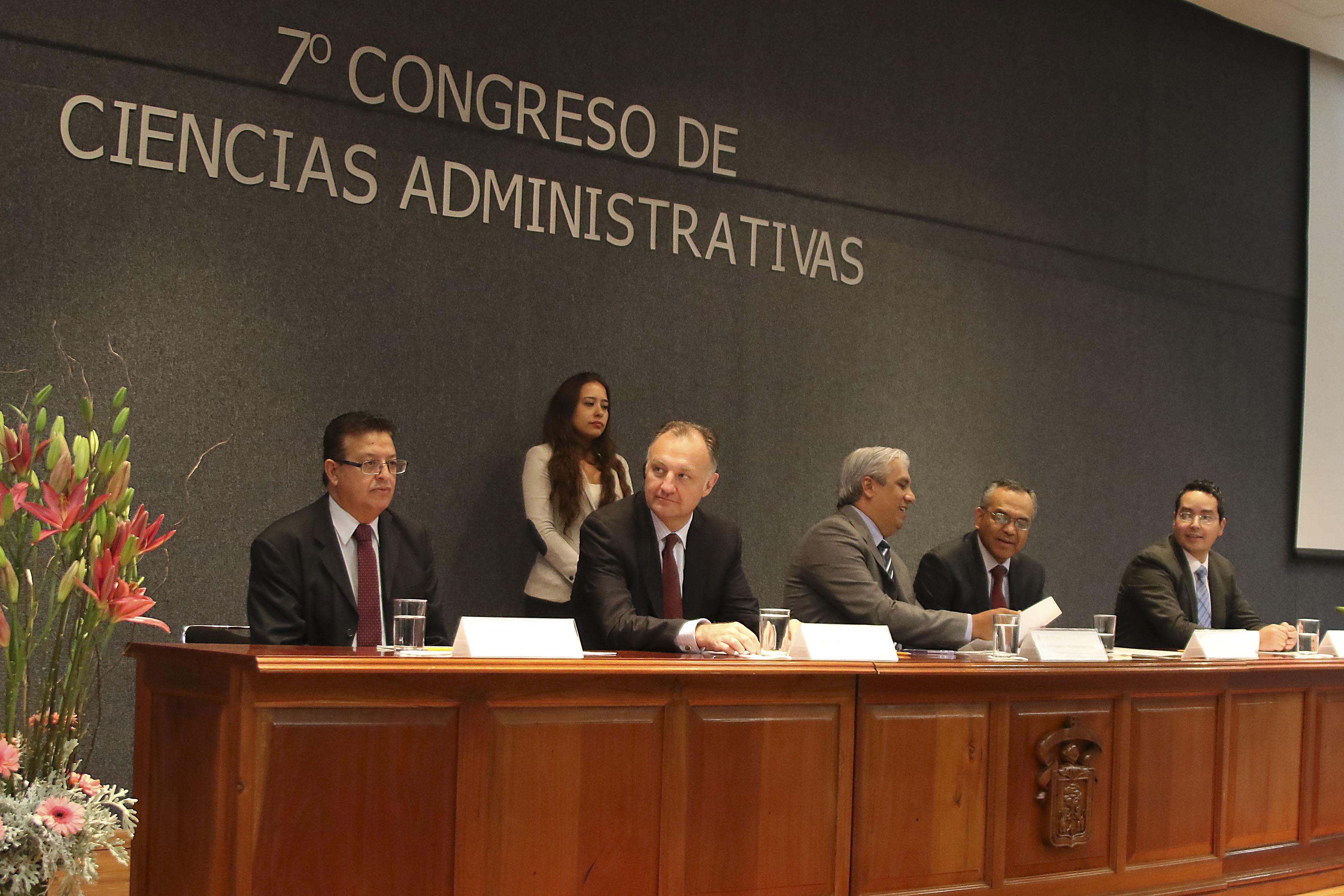 7mo Congreso de Ciencias de la Administración, en las instalaciones del CUCEA