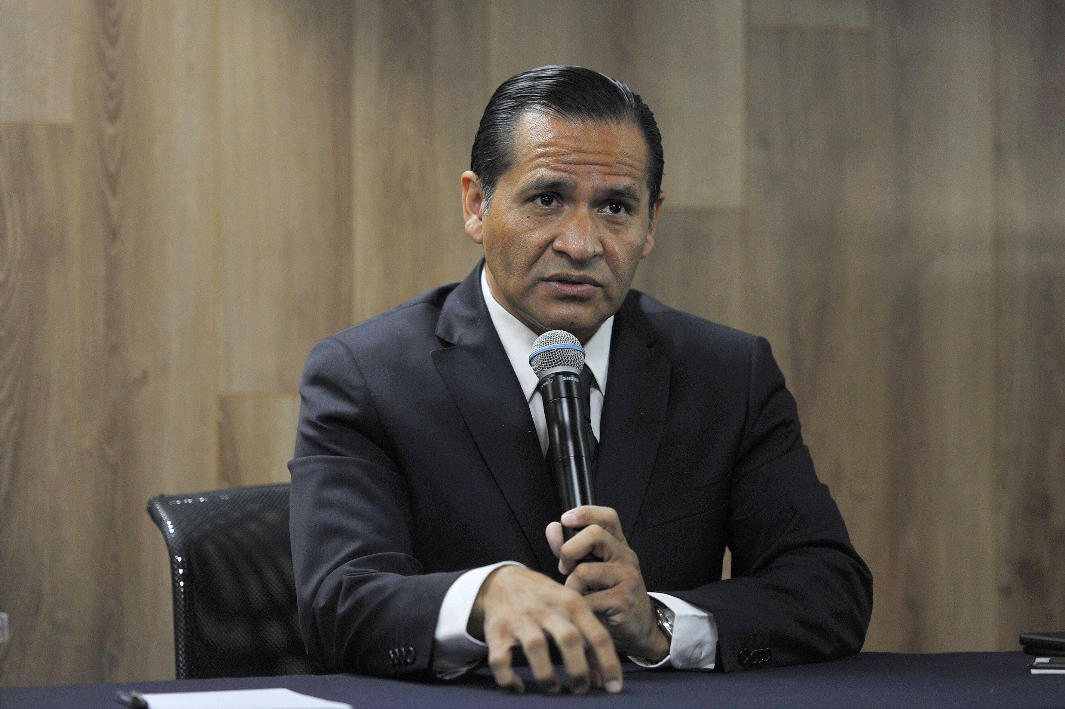 Fiscal General del Estado, Lic. Jesús Eduardo Almaguer Ramírez