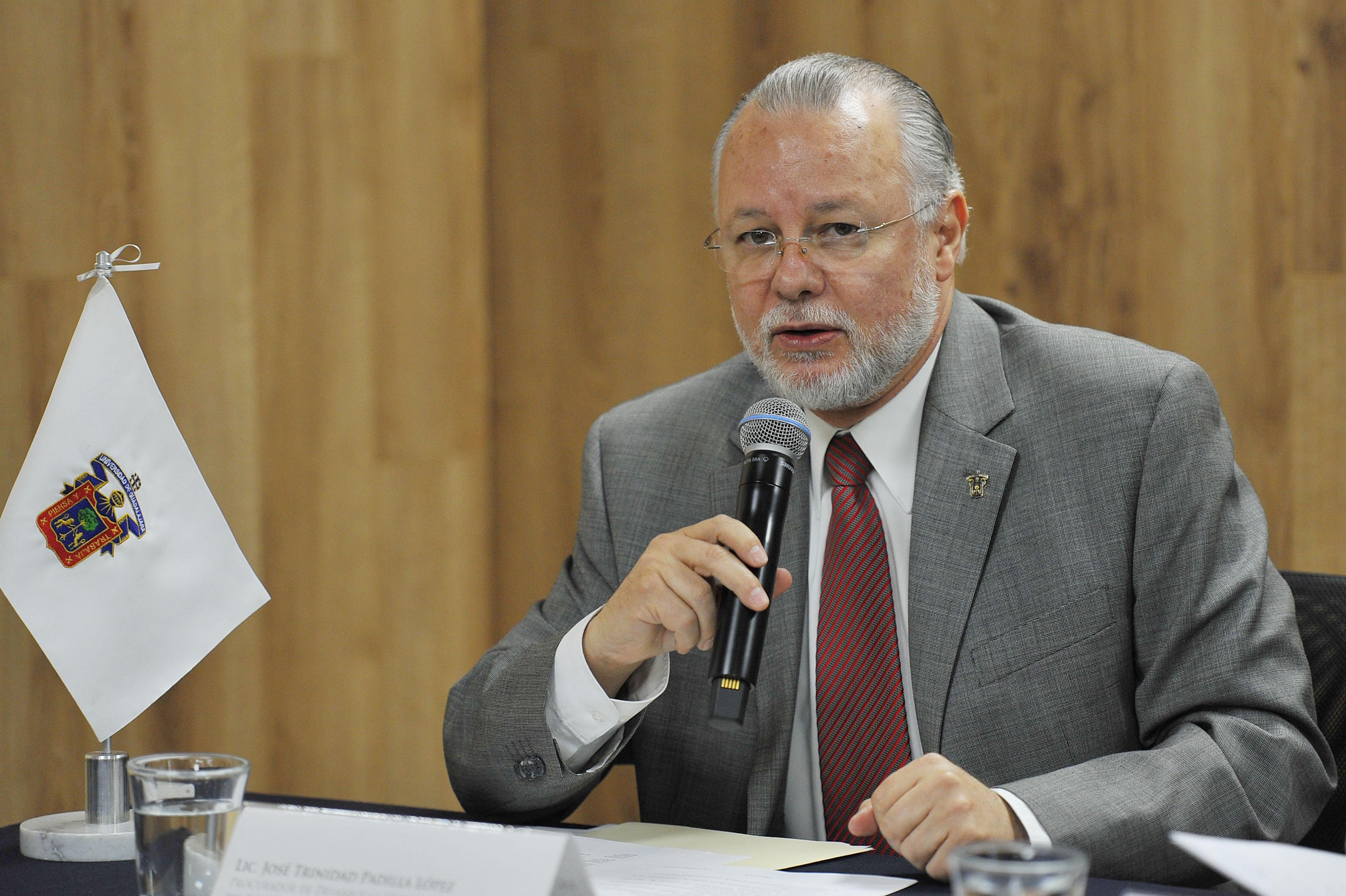 Maestro José Trinidad Padilla López, procurador de Desarrollo Urbano de Jalisco