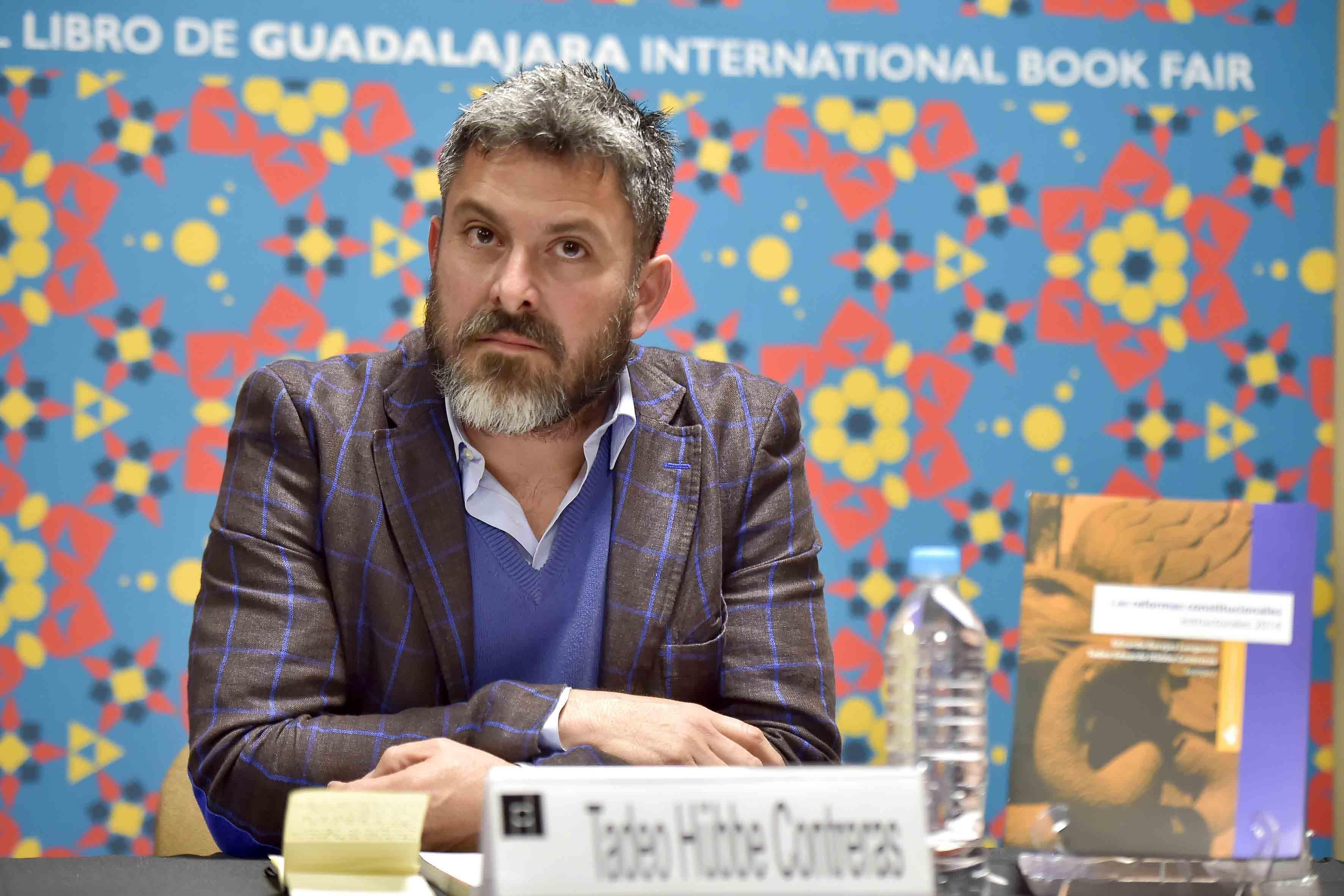 Tadeo Eduardo Hübbe Contreras, secretario administrativo del Centro Universitario de Tonalá (CUTonalá), de la Universidad de Guadalajara y uno de los coordinadores del libro Reformas constitucionales estructurales 2014.