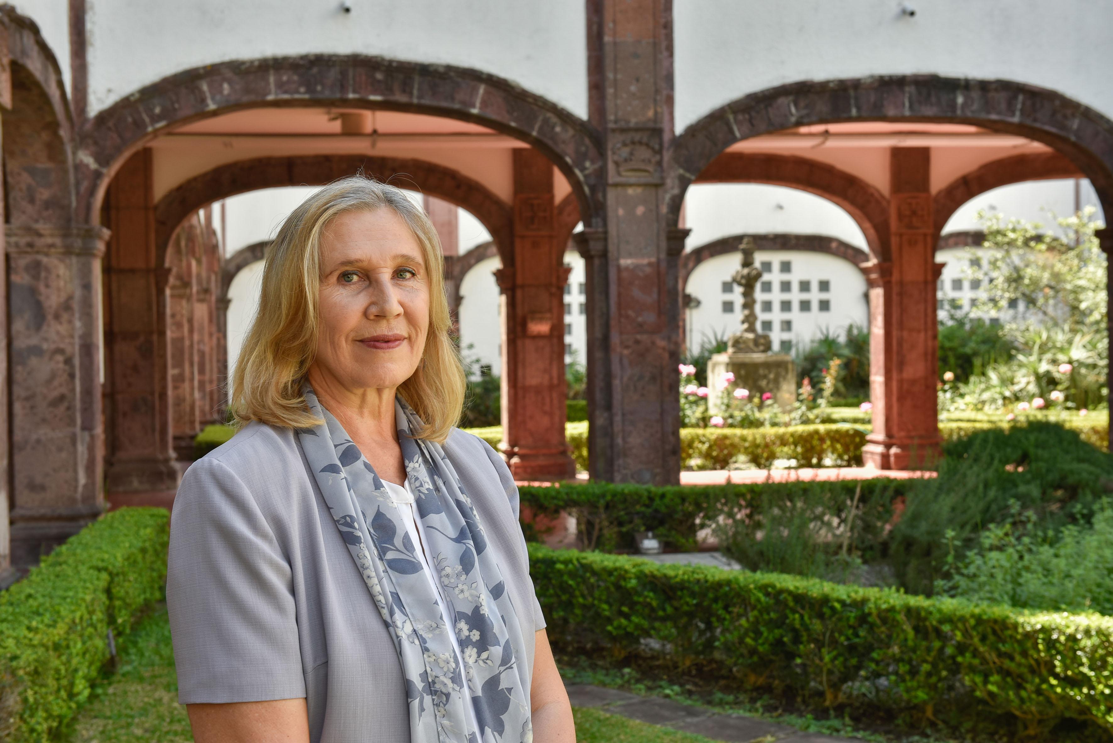 Doctora Galina Zaitseva, jefa del Laboratorio de Inmunología del Departamento de Biología Celular y Molecular del Centro Universitario de Ciencias Biológicas y Agropecuarias.