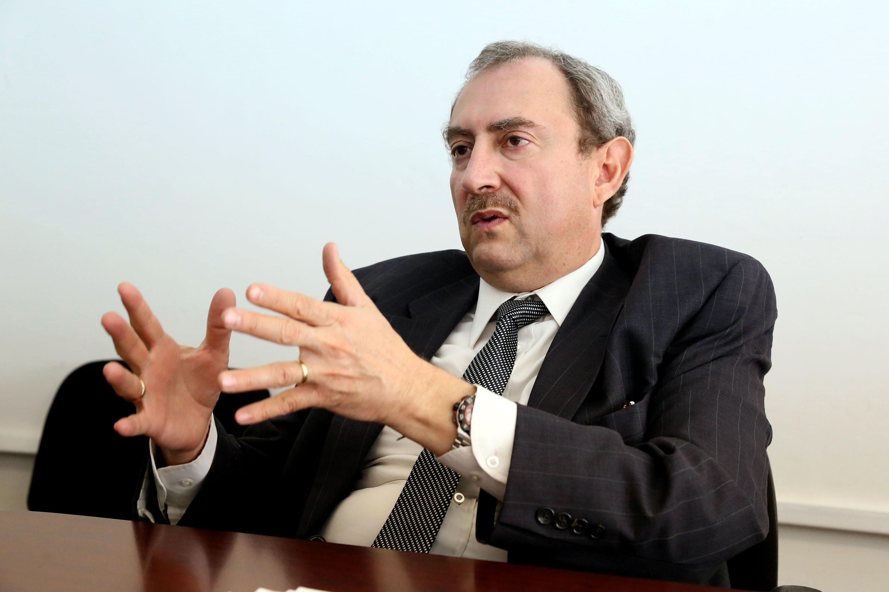 Coordinador del posgrado, doctor José Luis Castellanos González
