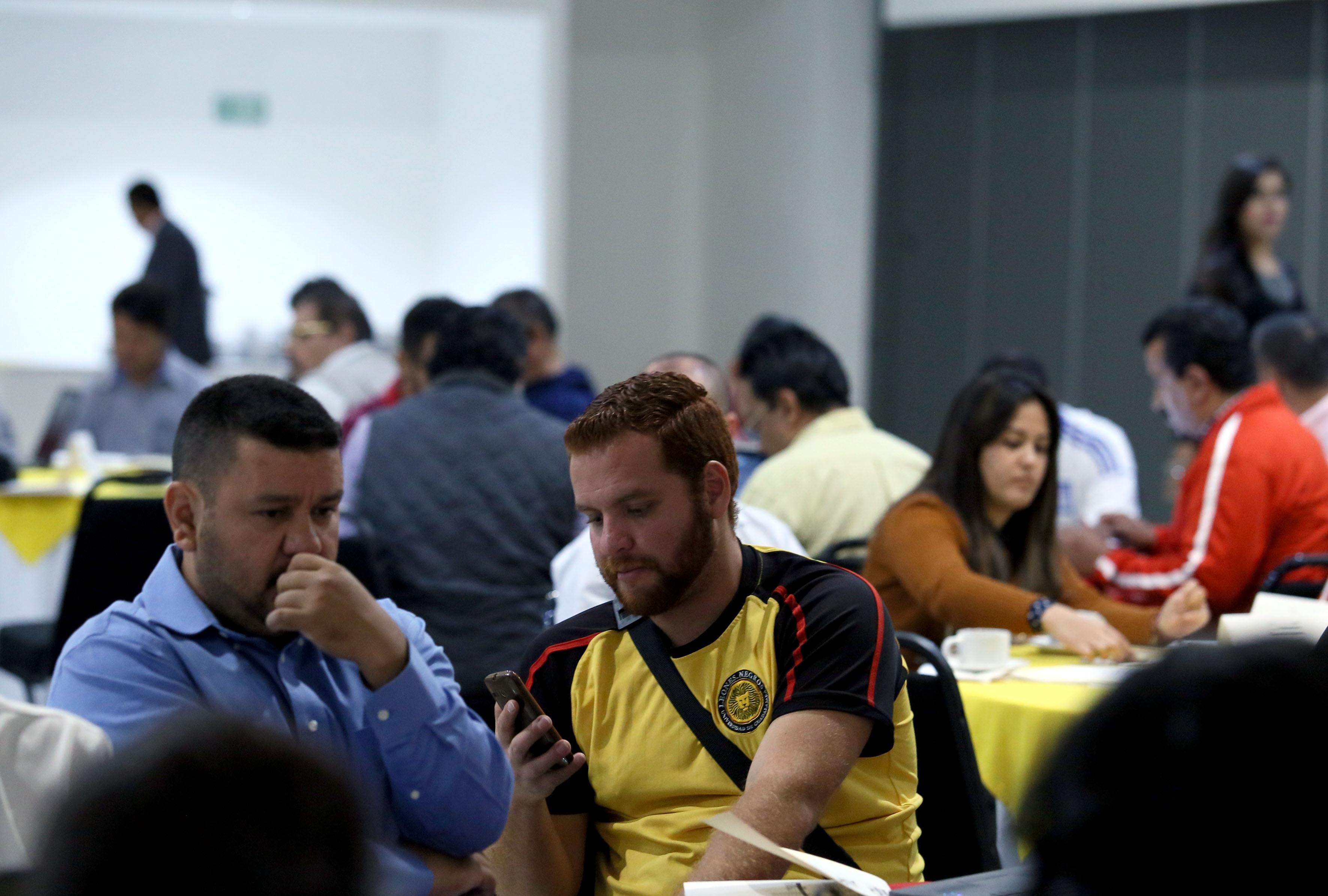 Participantes a la convocatoria a participar en Liga Estudiantil Universitaria