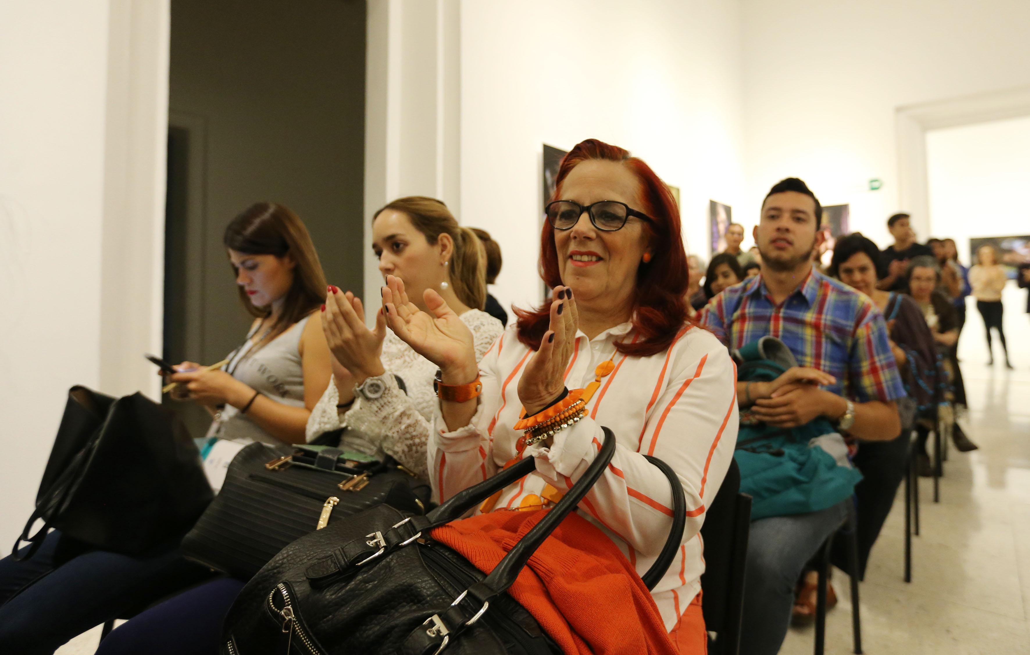 Publico asistente a la presentación  numero 86 de la revista literaria de la Universidad de Guadalajara (UdeG), en el marco del 32 Festival Internacional de Cine en Guadalajara (FICG)