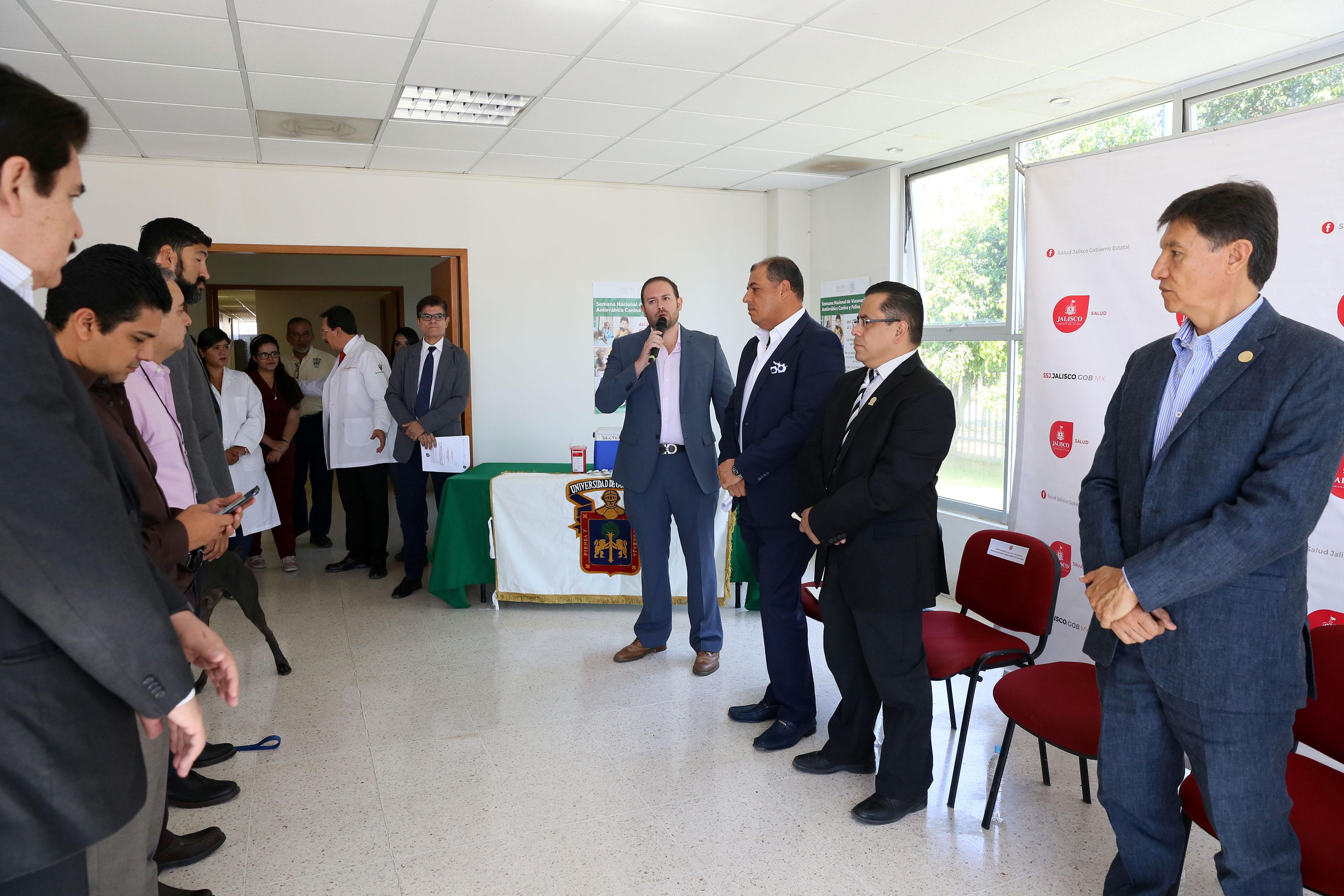 Inauguración de la  Semana Nacional de Vacunación Antirrábica Canina y Felina (2017), segura y gratuita.