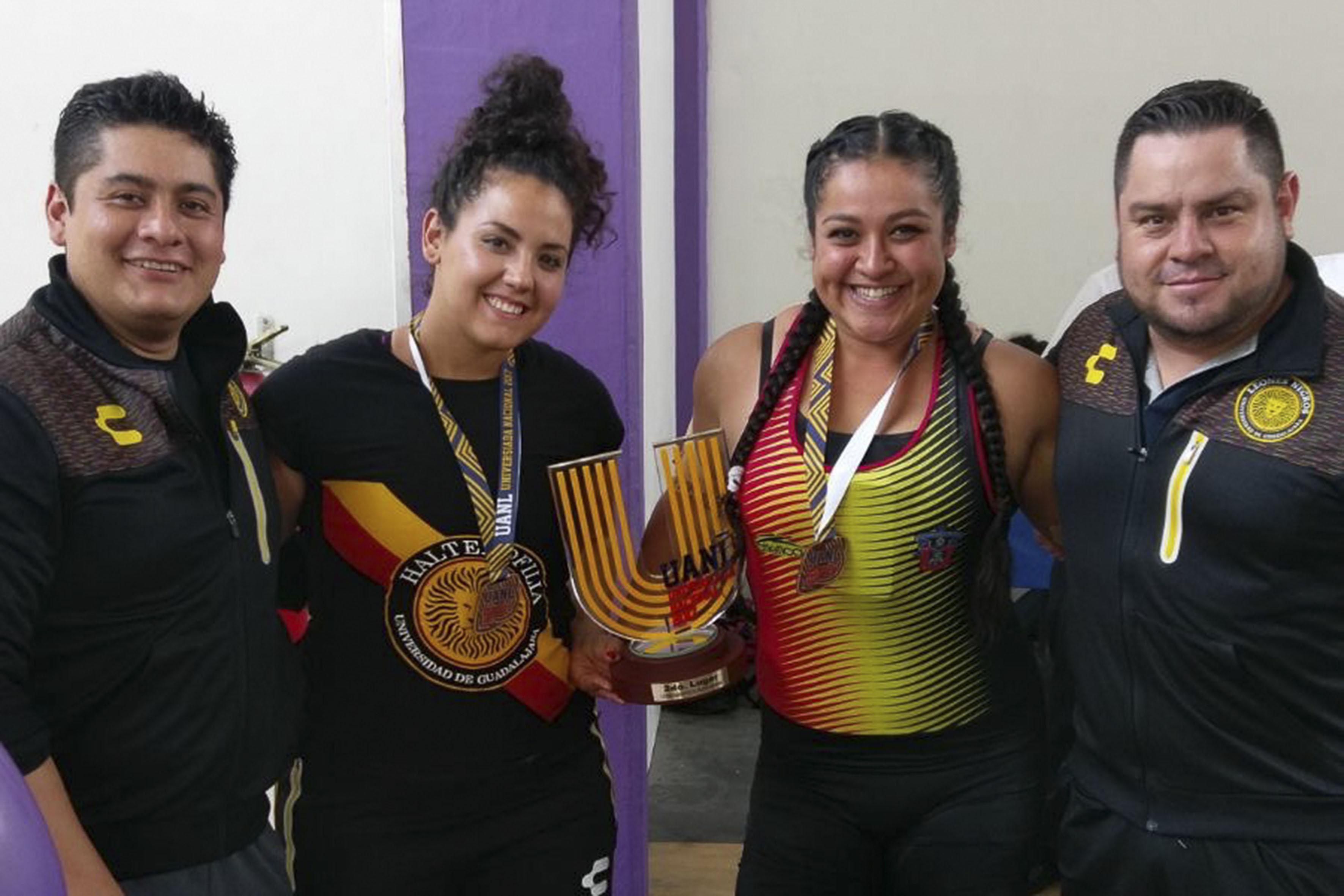 Deportistas participantes en la Universiada Nacional 2017, que tiene como sede a la Universidad Autónoma de Nuevo León.