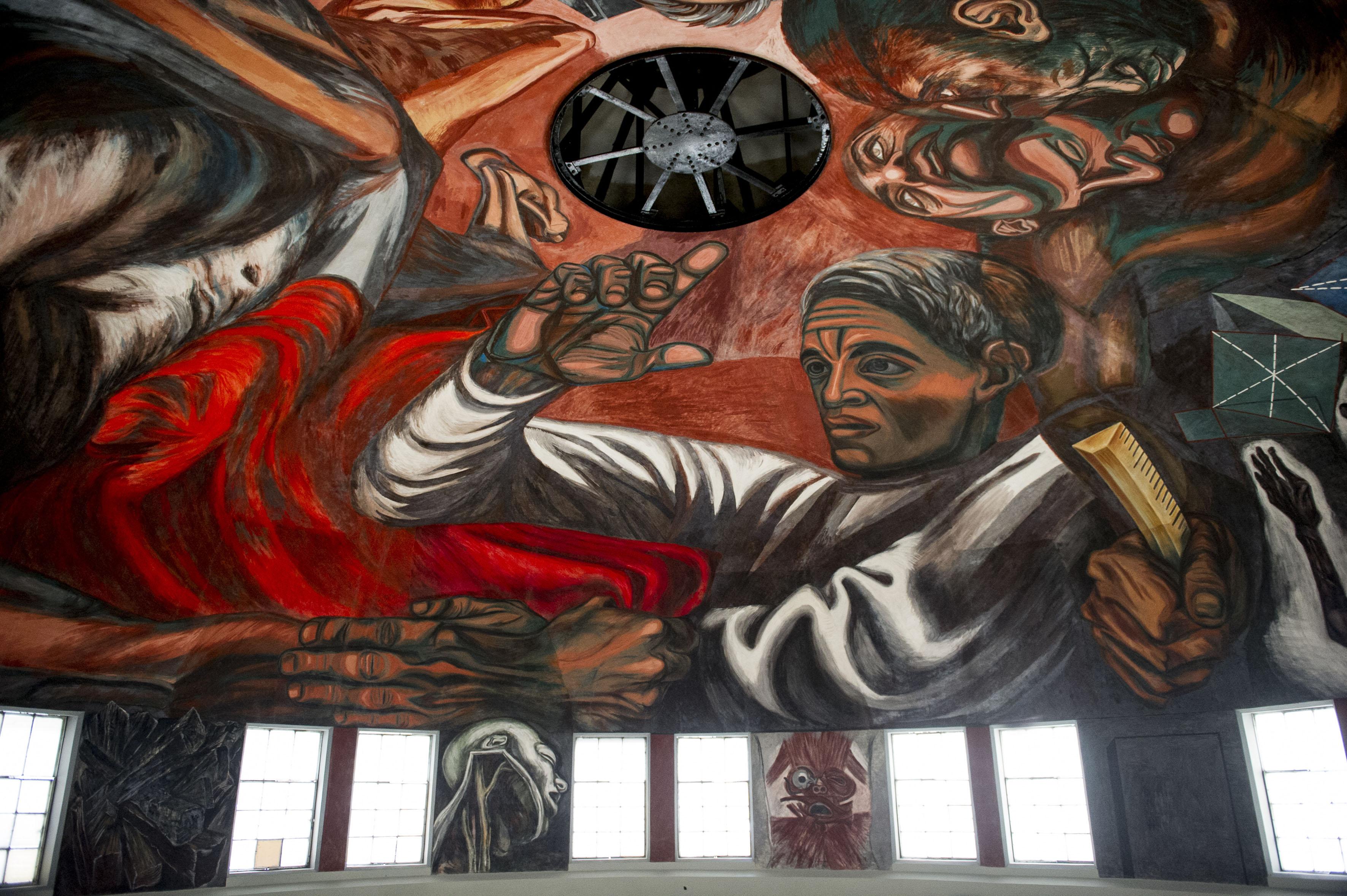 concluye restauraci n de murales de orozco en paraninfo de