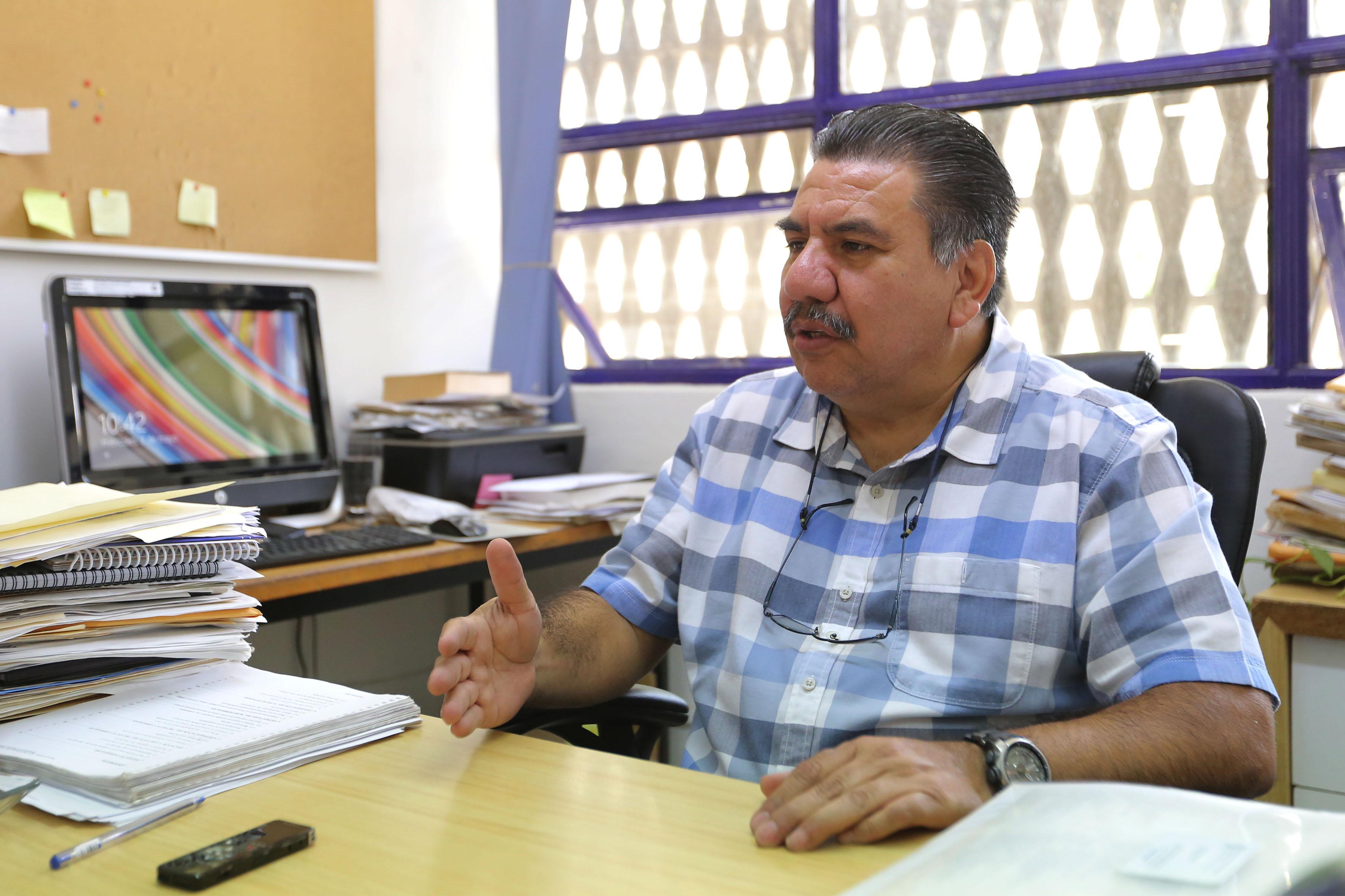 Doctor Carlos Suárez Plascencia, jefe del Departamento de Geografía y Ordenación Territorial, del Centro Universitario de Ciencias Sociales y Humanidades, en entrevista
