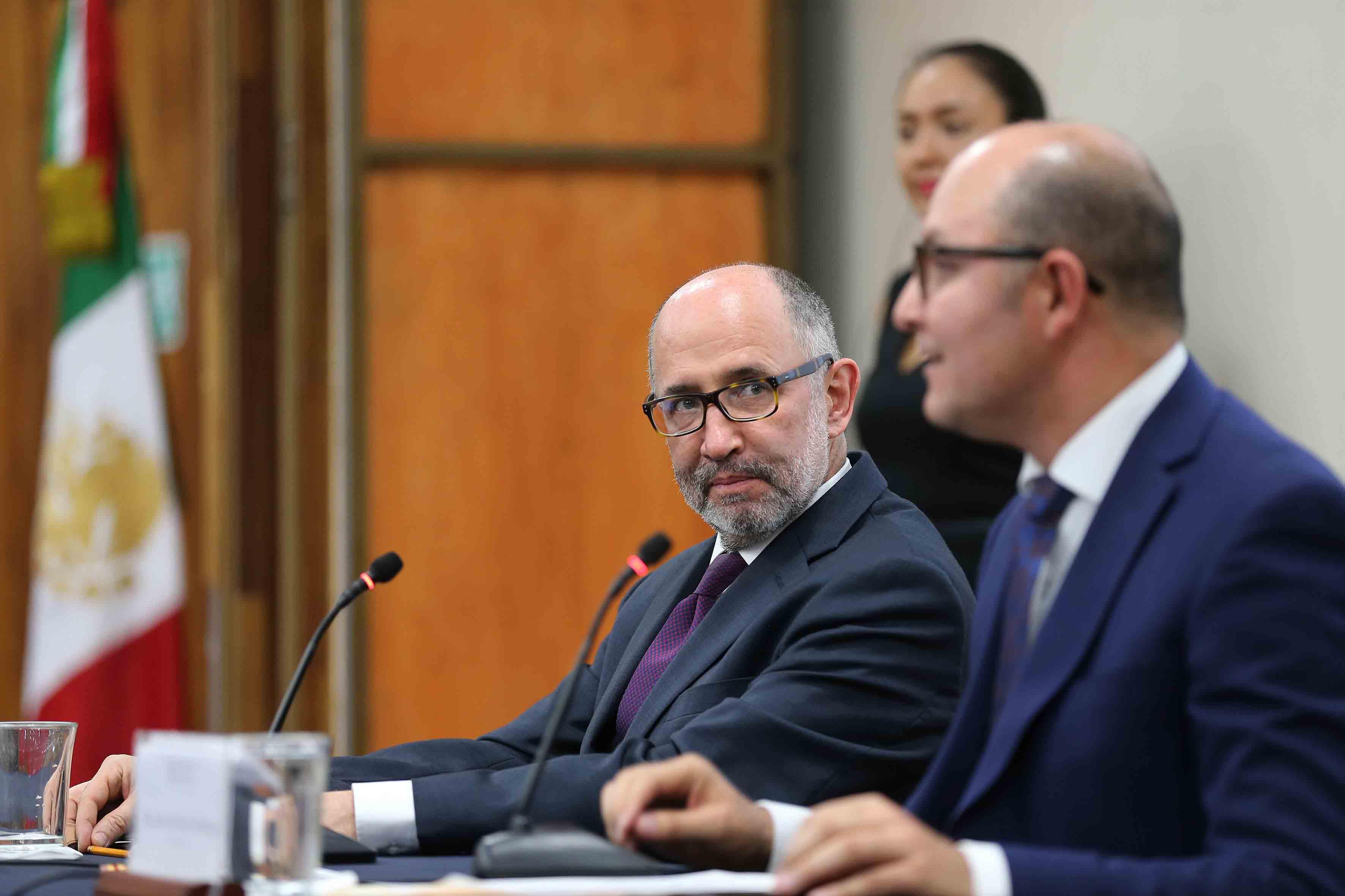Doctor José Ramón Cossío Díaz, Ministro de la Suprema Corte de Justicia de la Nación (SCJN).