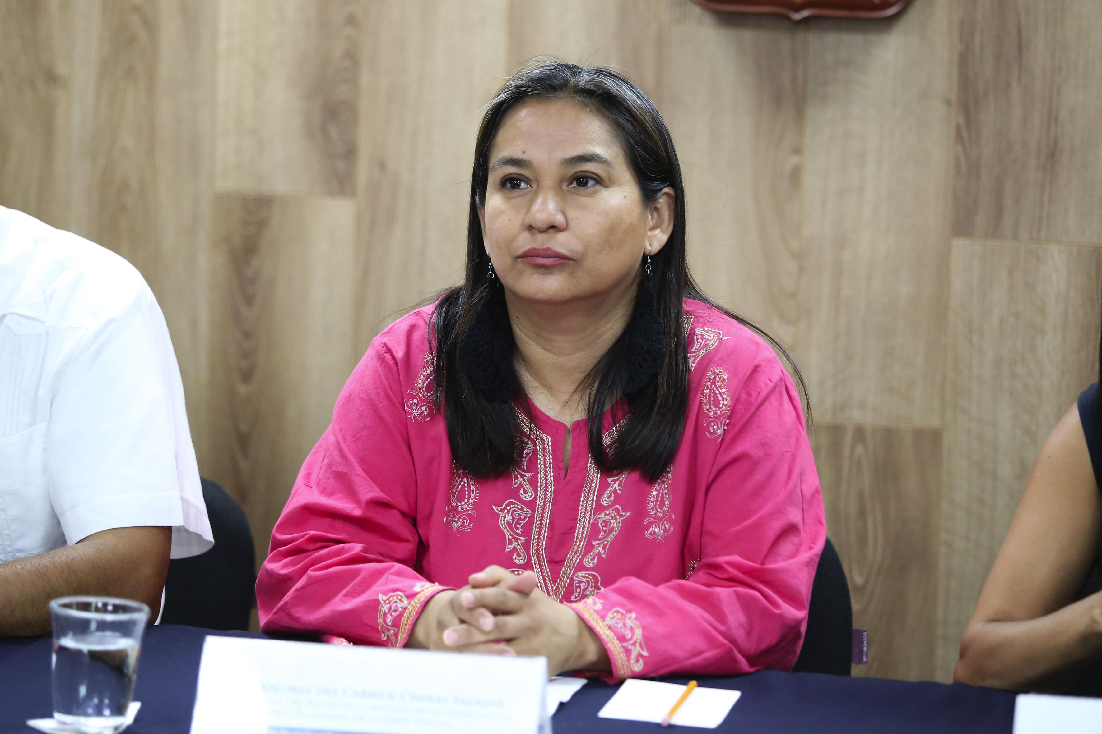 Doctora Carmen Chinas Salazar, responsable del proyecto y asesora de la licenciatura en Seguridad Ciudadana en UDG Virtual,