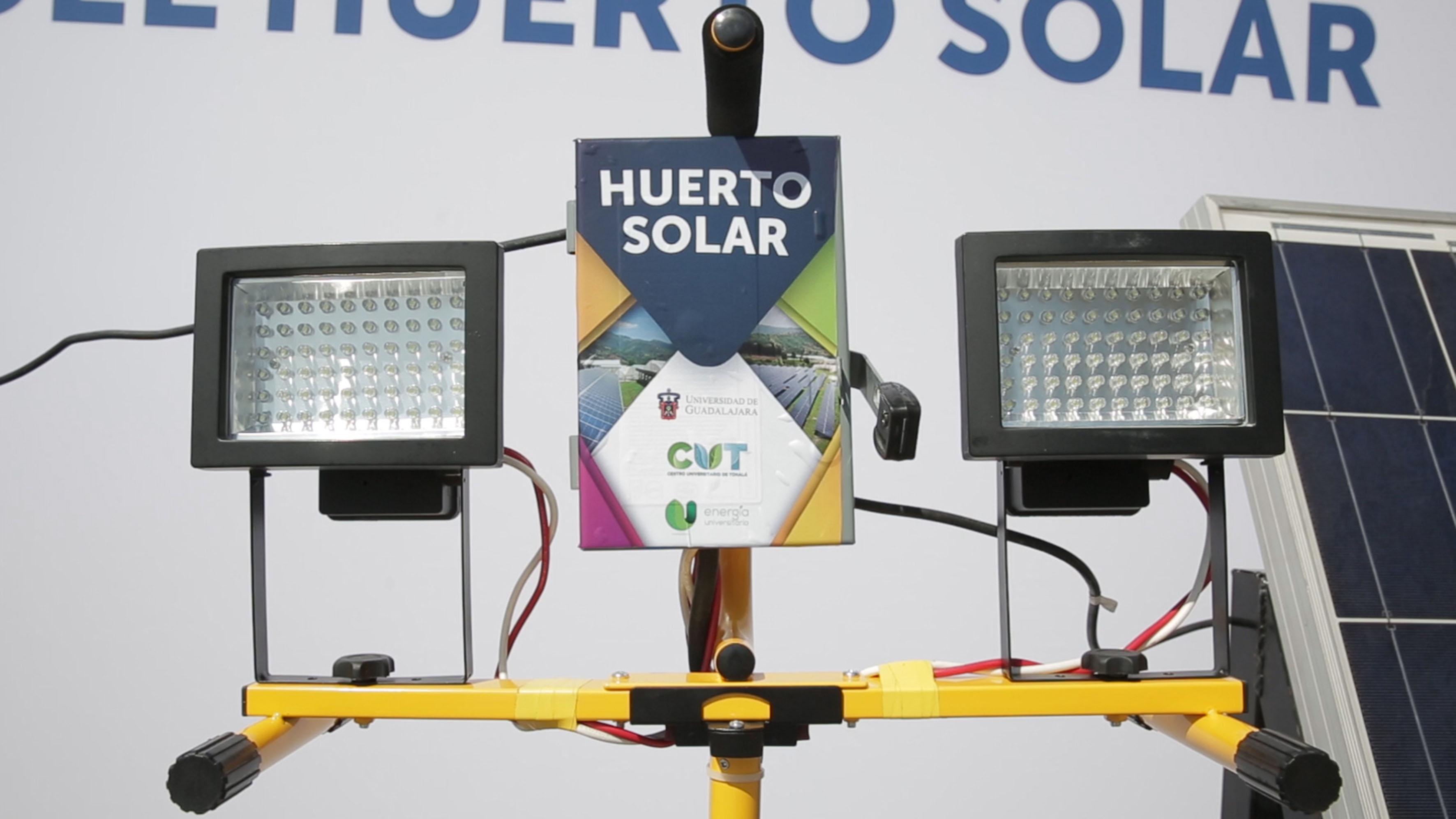 Herramienta utilizada para el funcionamiento del primer huerto solar de la Universidad de Guadalajara, en el marco del Programa Universitario Integral de Transición Energética (PUITE).
