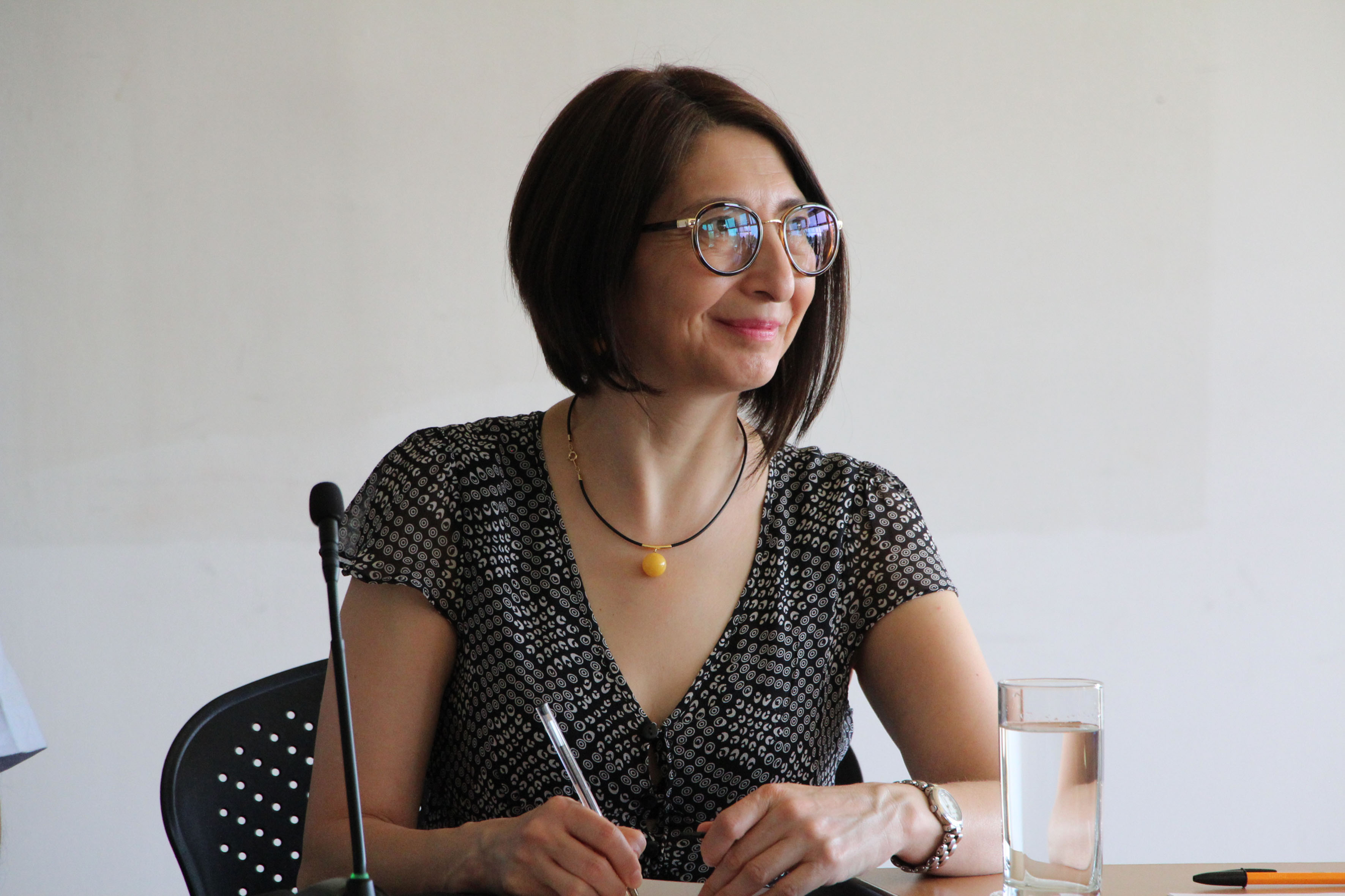 Rectora de CUALTOS, doctora Mara Robles Villaseñor.