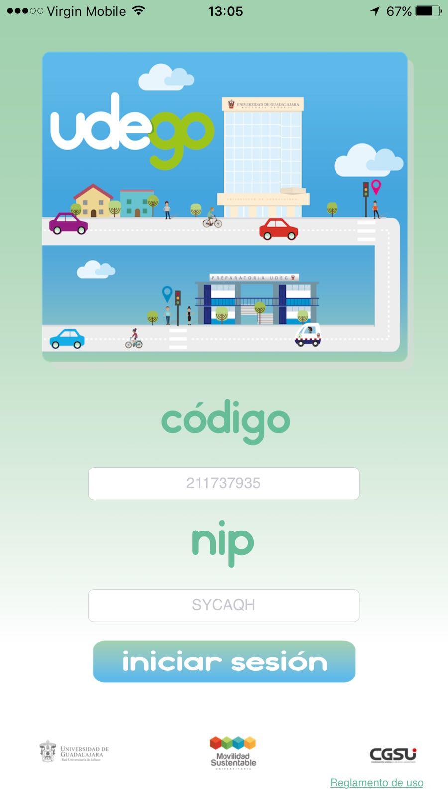 Aplicación móvil que buscará conectar a los estudiantes de la Universidad de Guadalajara para ofrecer y buscar rides de forma gratuita.