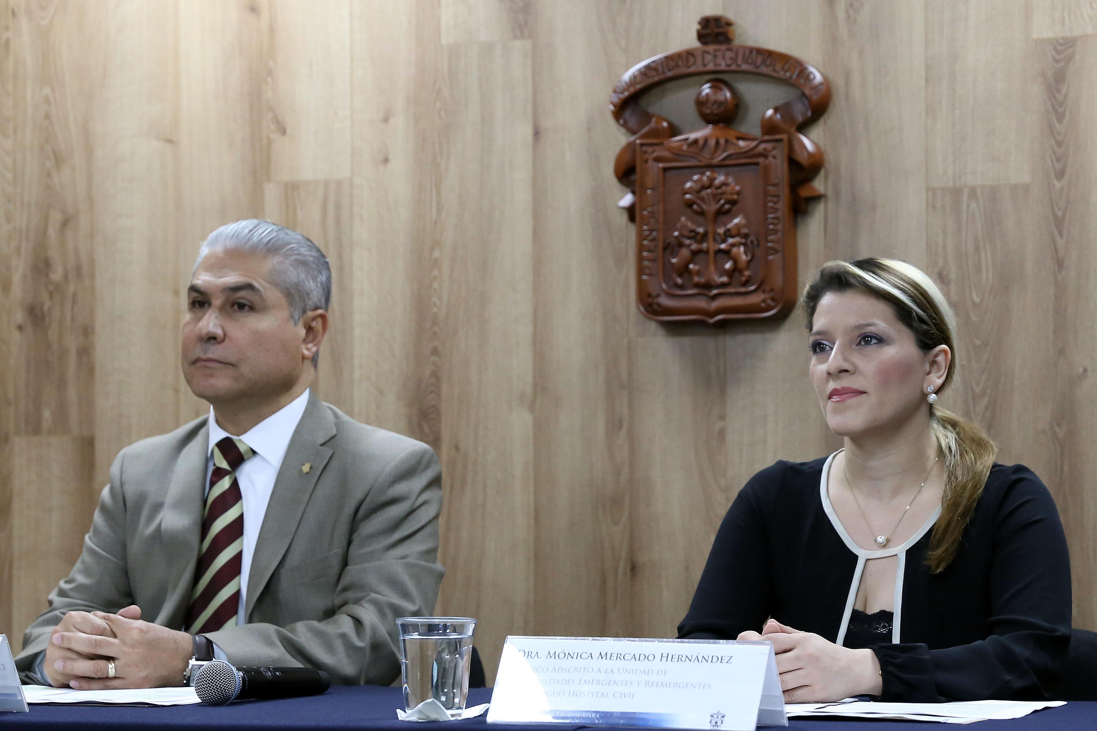 """Dra. Mónica Mercado Hernández, médico adscrito a la Unidad de Enfermedades Emergentes y Reemergentes del hospital civil """"Fray Antonio Alcalde"""""""