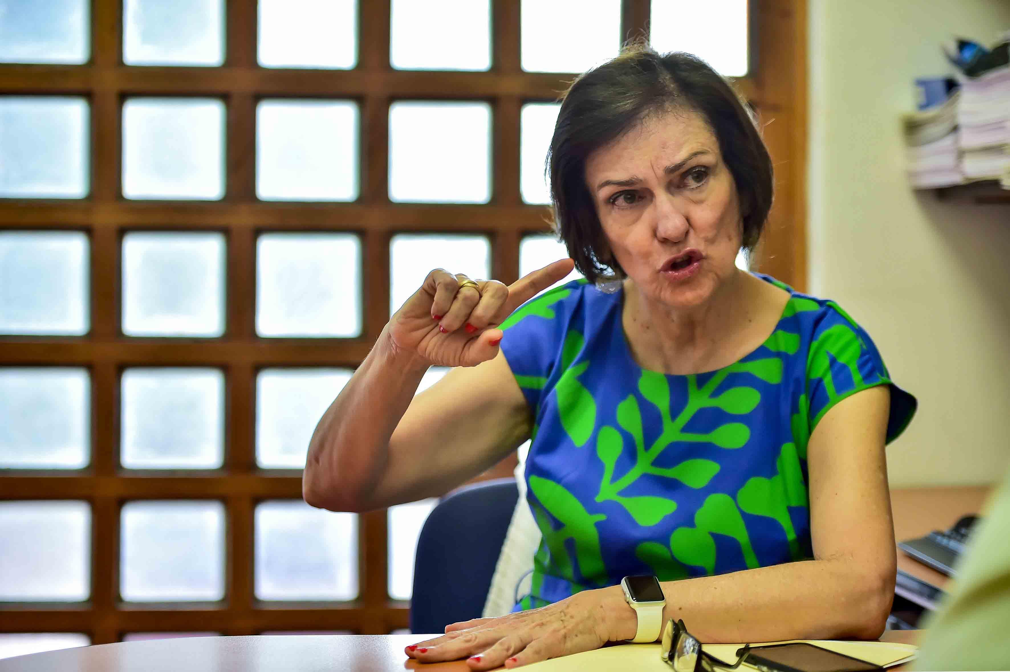 Doctora Esmeralda Matute Villaseñor, directora del Instituto de Neurociencias (Ineuro), de la Universidad de Guadalajara, en entrevista.