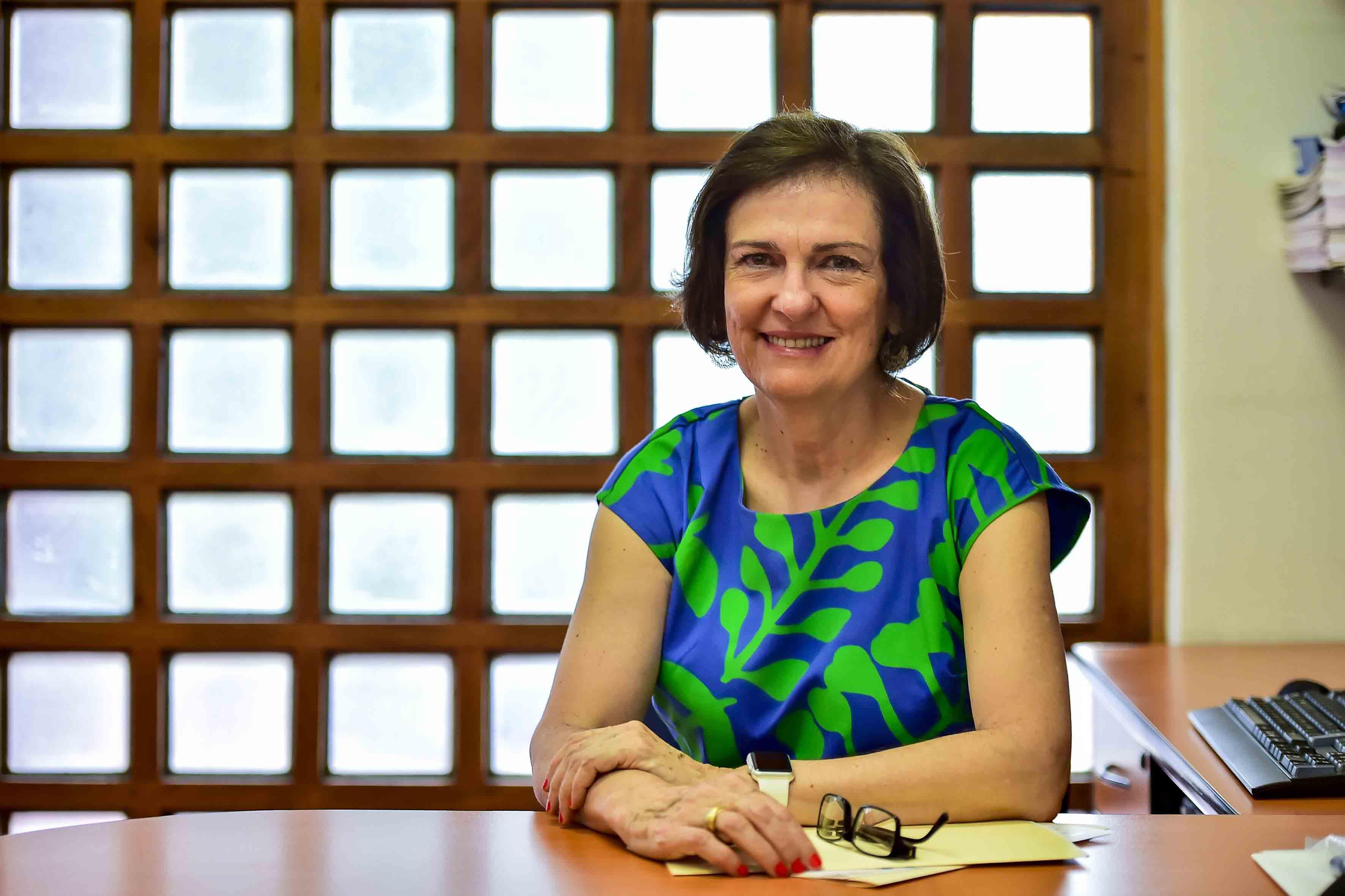 Doctora Esmeralda Matute Villaseñor, directora del Instituto de Neurociencias (Ineuro), de la Universidad de Guadalajara.
