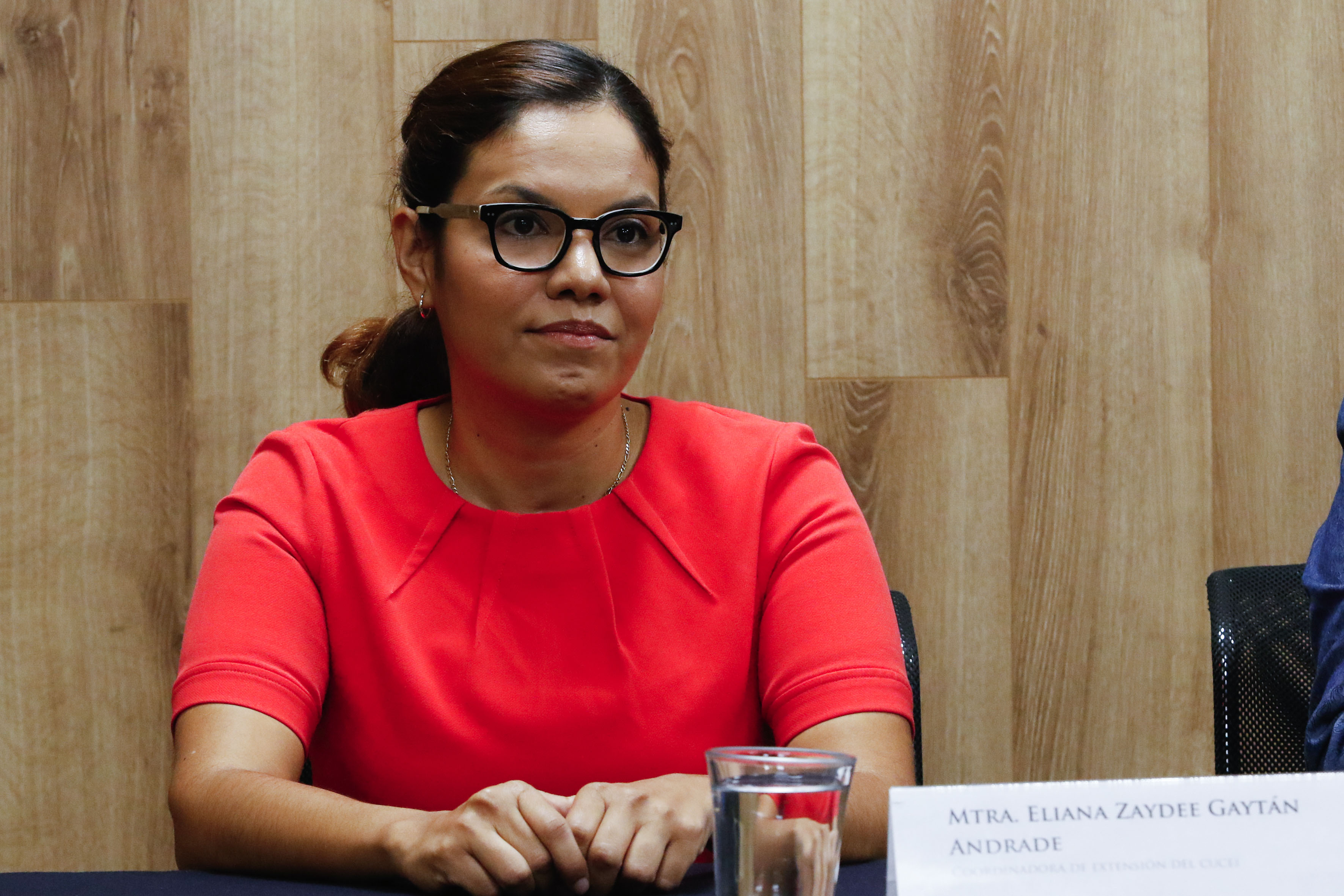 Maestra Eliana Gaytán Andrade, coordinadora de Extensión del CUCEI.