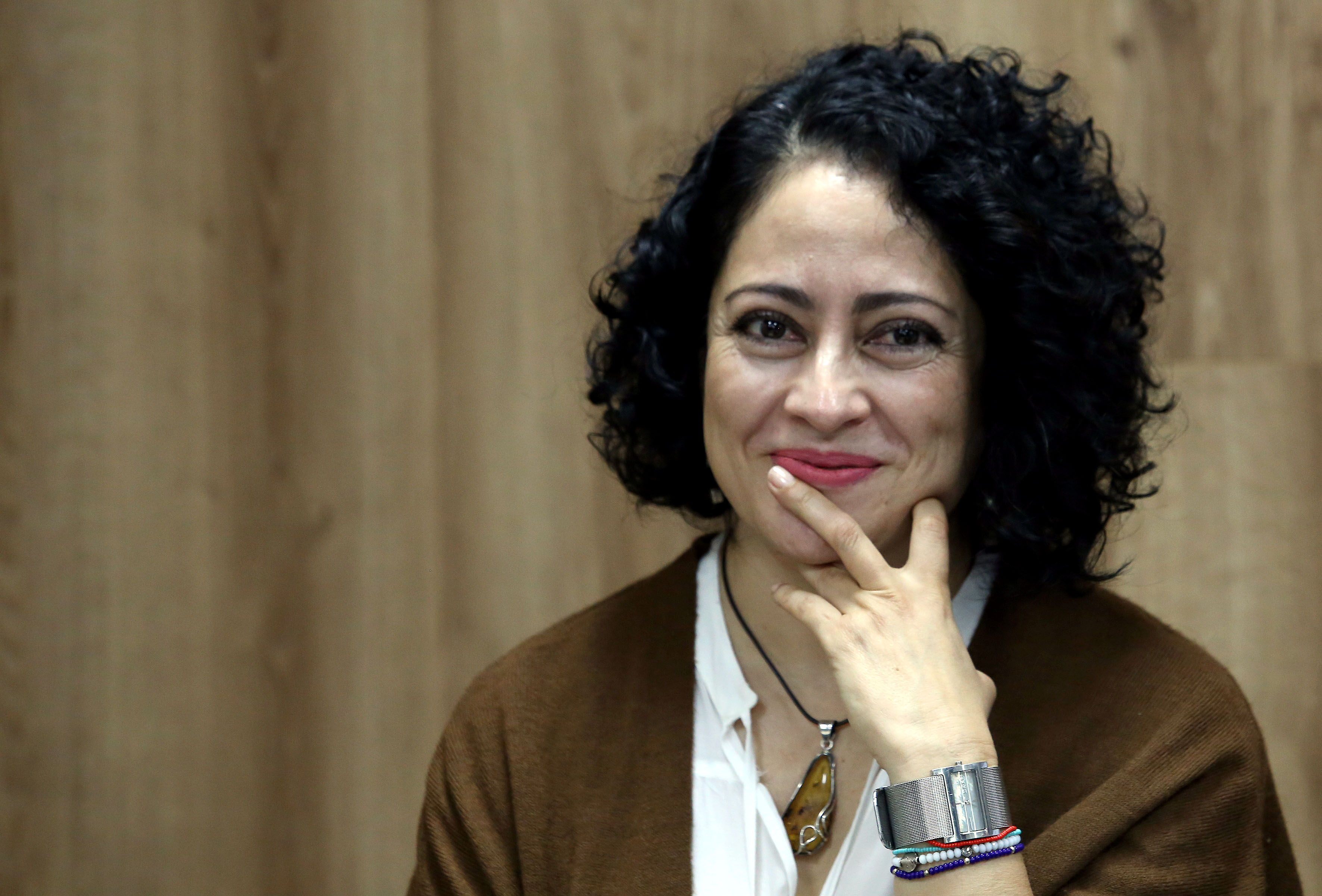 Dra. Julia Preciado Zamora investigadora del CIESAS haciendo uso de la palabra