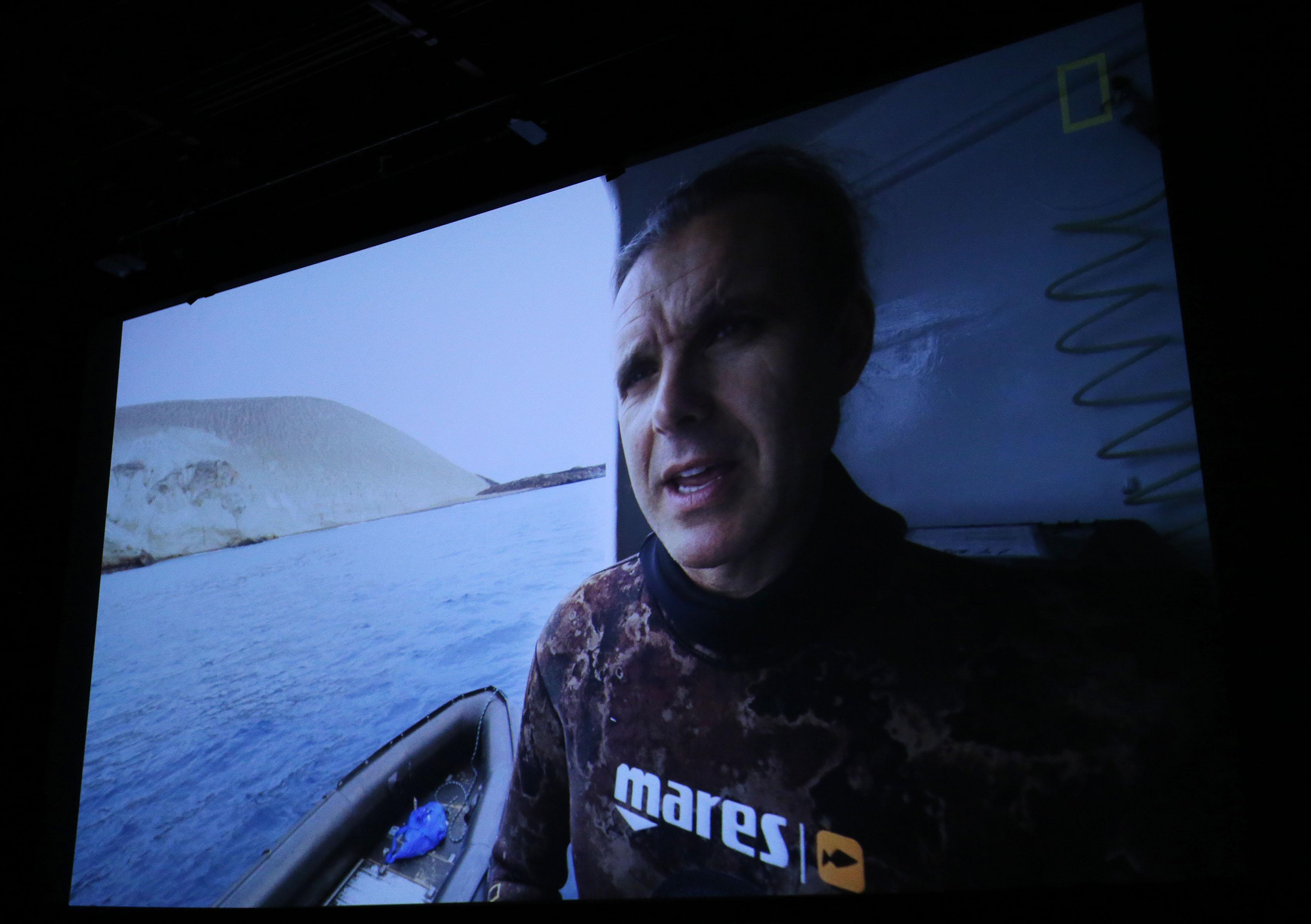 Función en el Cineforo de la UdeG, del documental Revillagigedo, el México más salvaje, producido por National Geographic Pristine Seas.