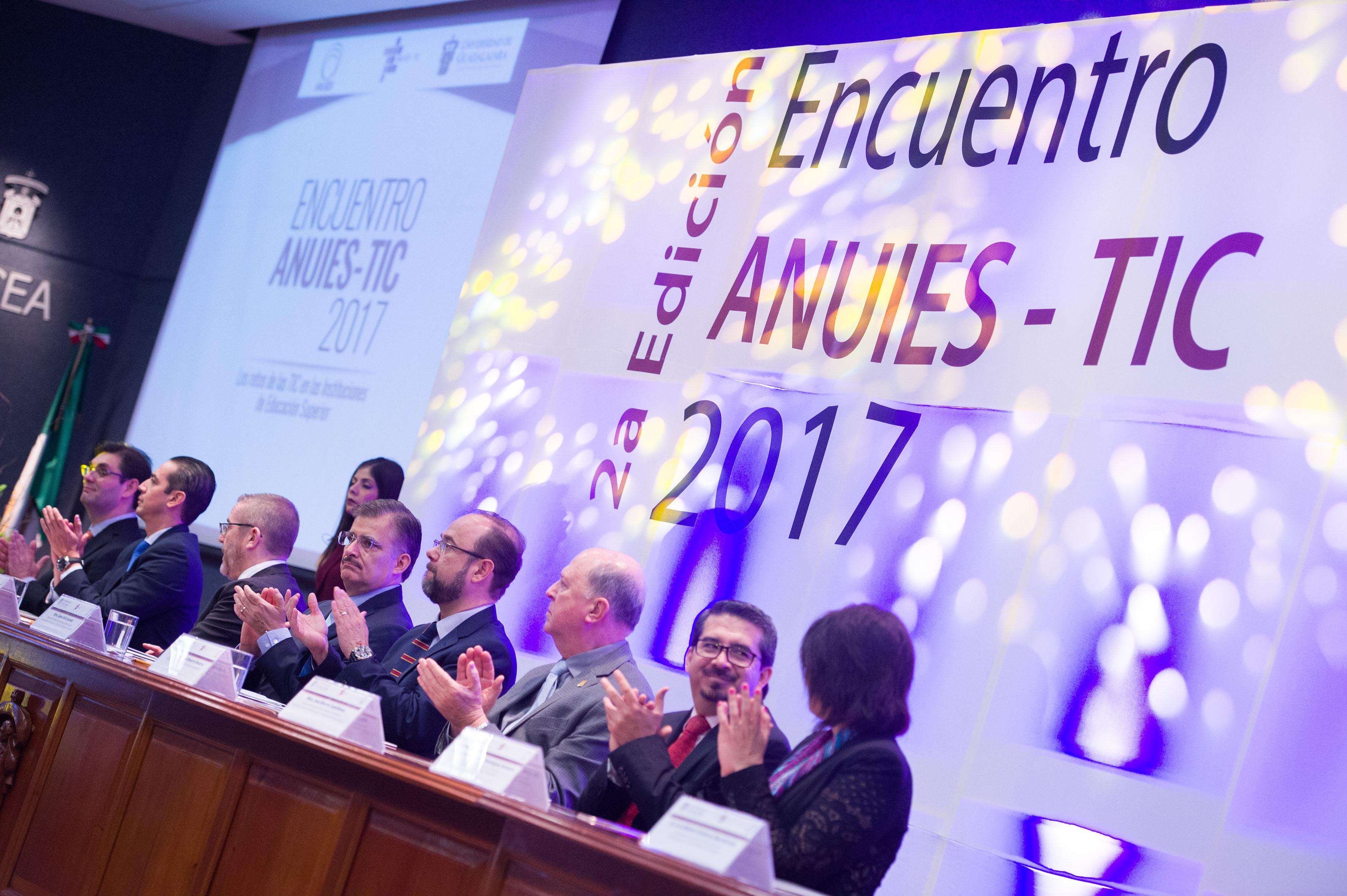 Inauguración de el Segundo Encuentro ANUIES-TIC 2017 en el CUCEA