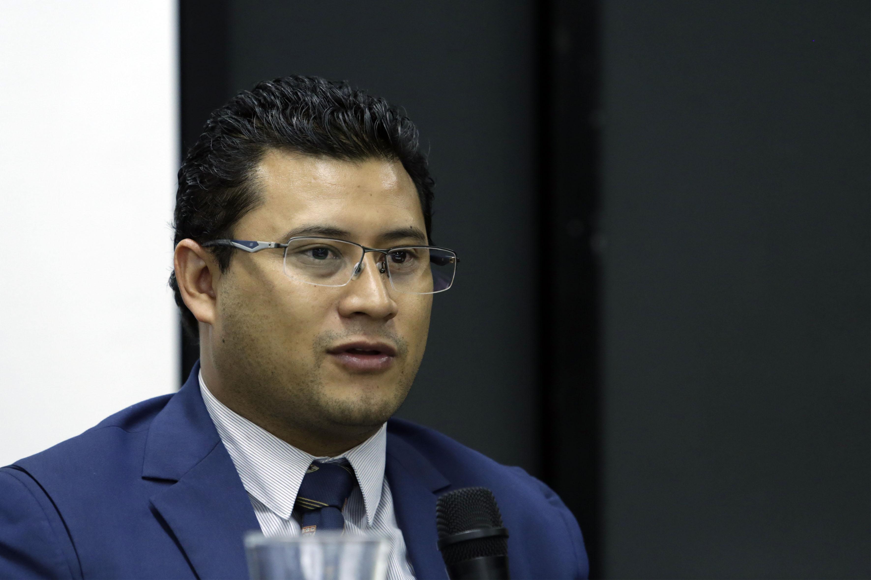 Dr. Omar Karim Hernández Romo, secretario de la Coordinación de Planeación y Desarrollo Institucional (Copladi), de la Universidad de Guadalajara