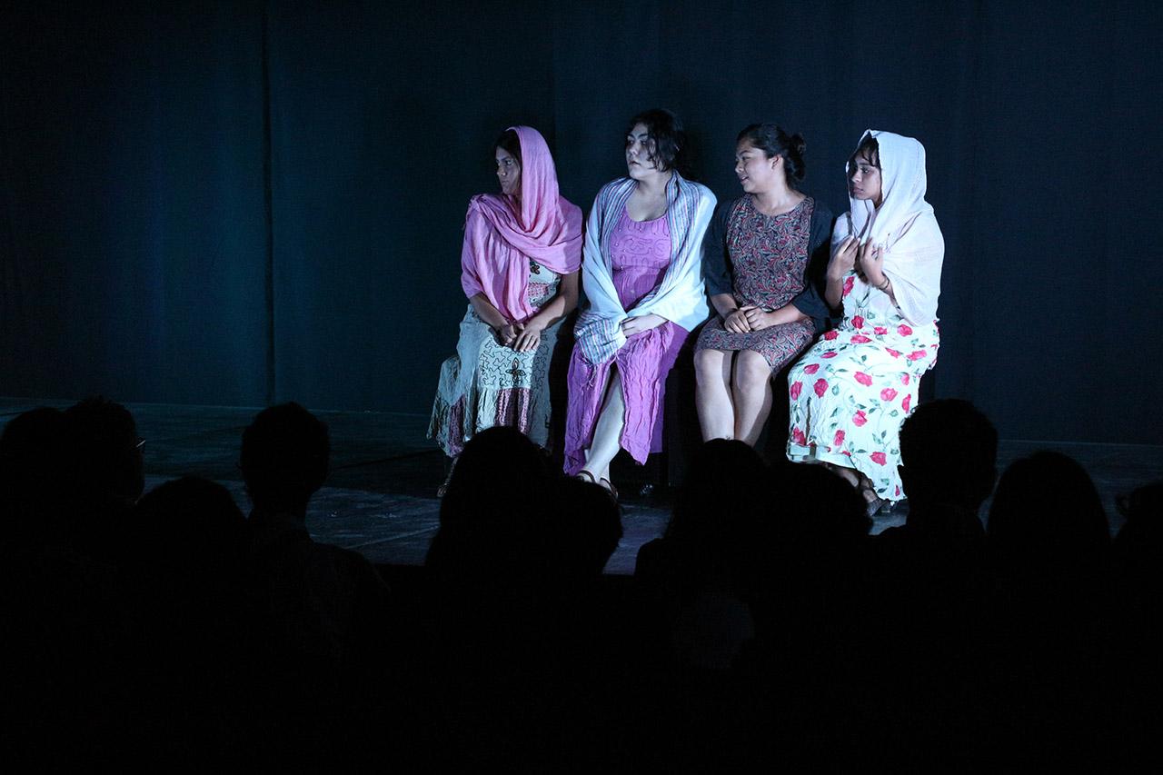 Actores de la obra obra El viaje de los cantores