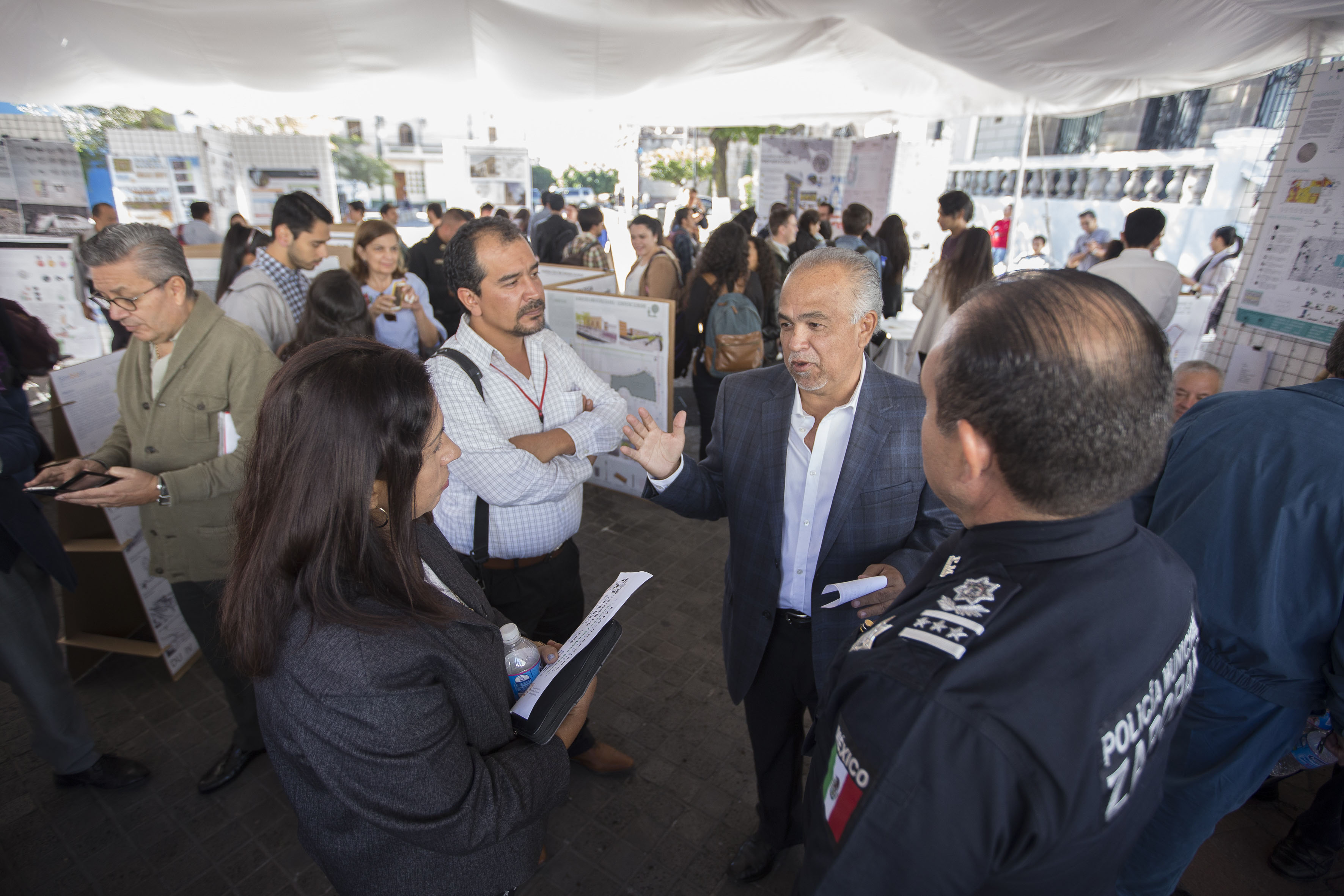 Expo Urbanismo Visión Preventiva de Seguridad en Rambla Cataluña