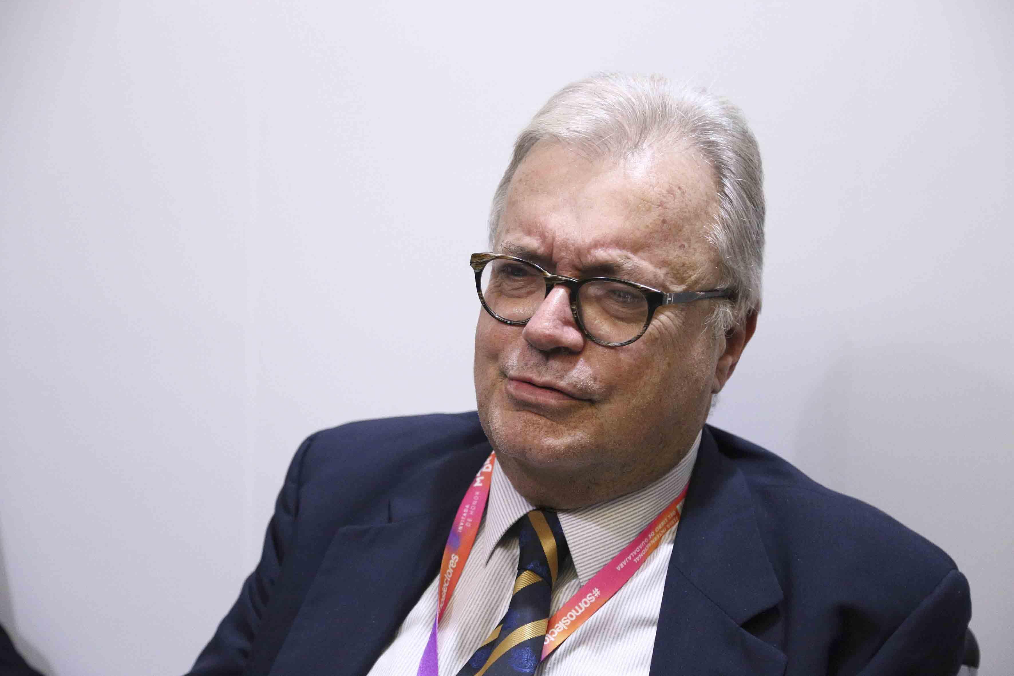 Doctor Luís Filipe de Castro Mendes Ministro de Cultura de la República de Portugal.