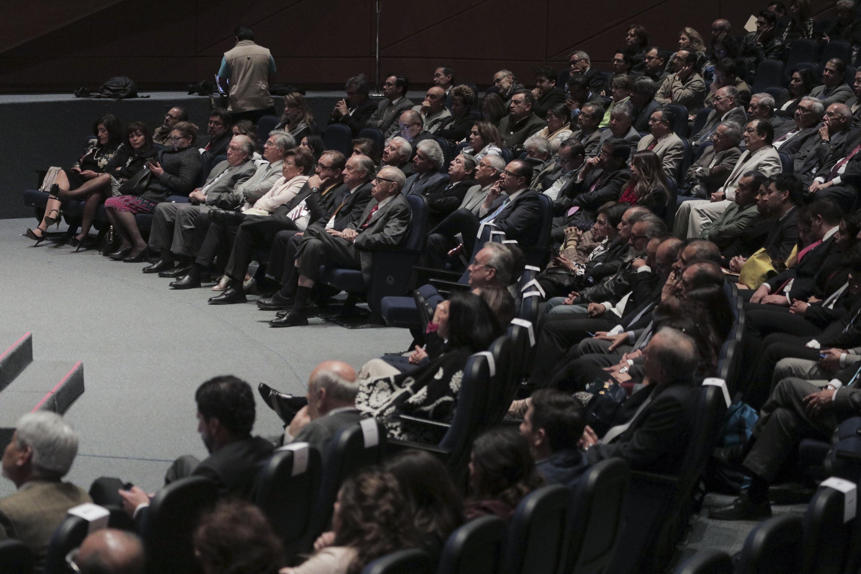 Publico asistente al auditorio