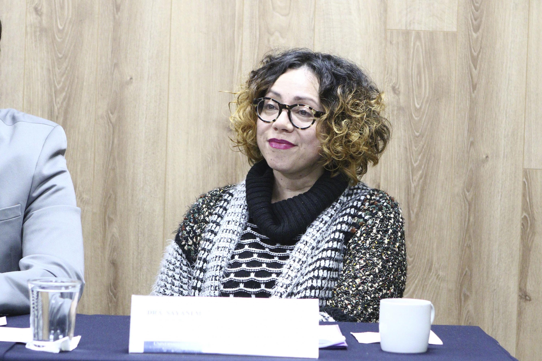 Académica del CUCSH, doctora Sayani Mozka Estrada.