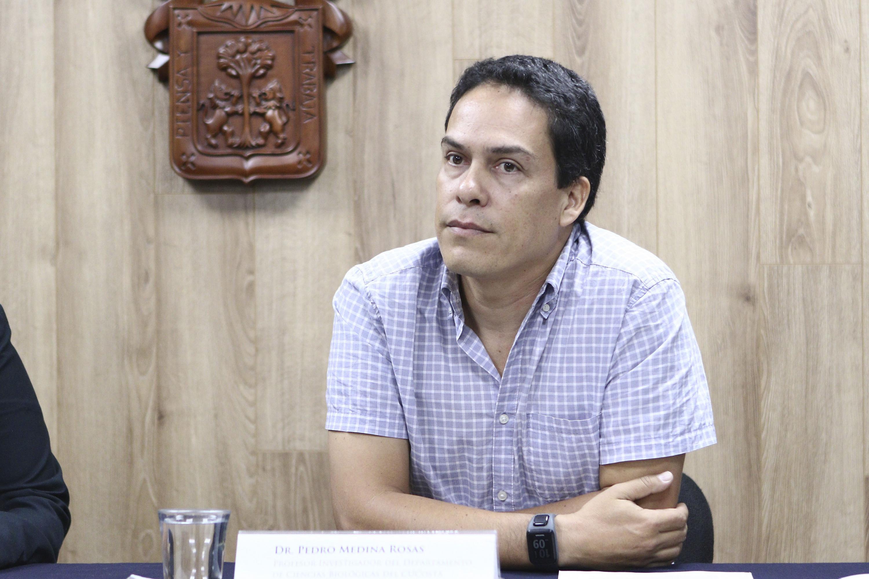Doctor Pedro Medina Rosas, profesor investigador del Departamento de Ciencias Biológicas del CUCosta, responsable del proyecto.