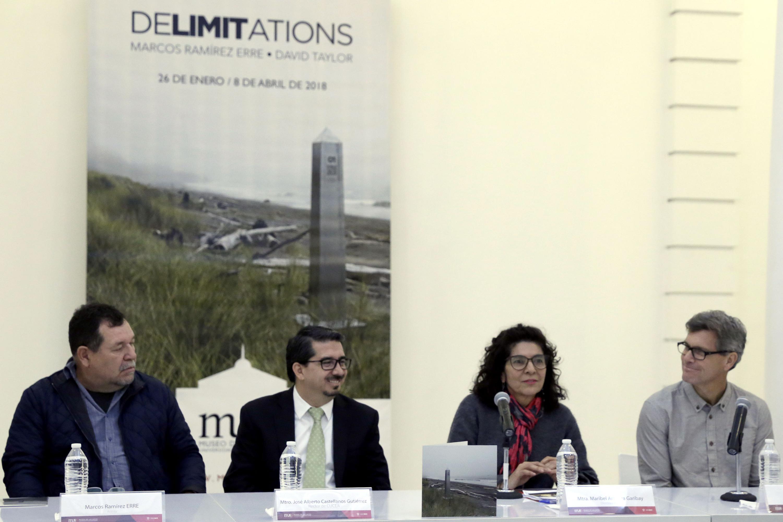 Presentaron la maestra Maribel Arteaga Garibay, el maestro José Alberto Castellanos Gutiérrez, Marcos Ramírez ERRE y David Taylor
