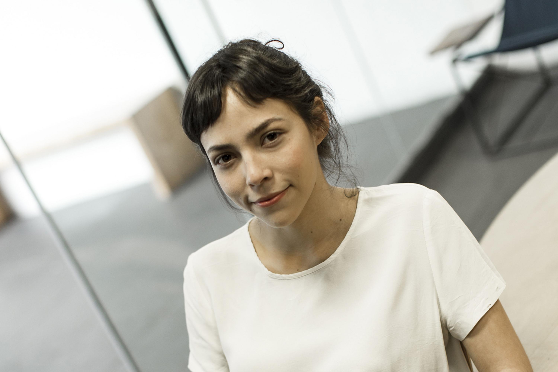 Ruth Ramos, estudiante de cuarto semestre de la licenciatura en Artes Escénicas para la Expresión Teatral, del CUAAD.