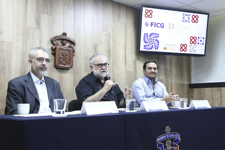 El maestro Sergio Iván Trujillo Bolio es Director General del FICG