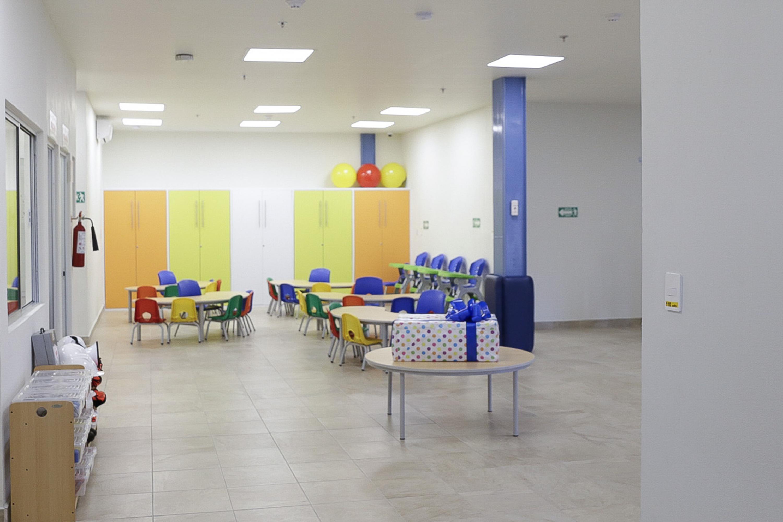 Instalaciones de la guardería en el CUCiénega