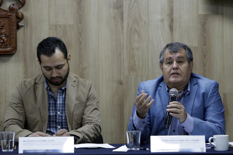 Doctor Federico de la Torre, académico del Centro Universitario de Ciencias Sociales y Humanidades.