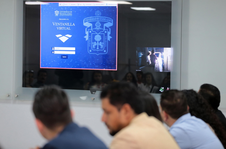 Presentación con diapositivas de la Ventanilla Virtual.