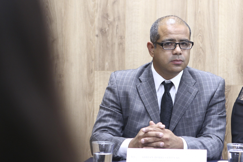 Adrián Torres Cuevas, integrante del cuerpo académico de Protección y Uso de la Propiedad Intelectual.
