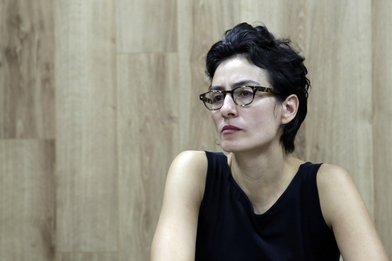 Maestra Melissa Amezcua, Coordinadora de la Maestría en Ciencias Politicas del CUCSH.