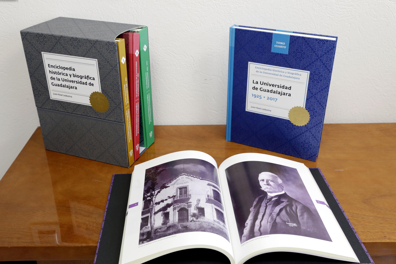 Enciclopedia histórica y biográfica de la Universidad de Guadalajara, escrita por  Juan Real Ledezma