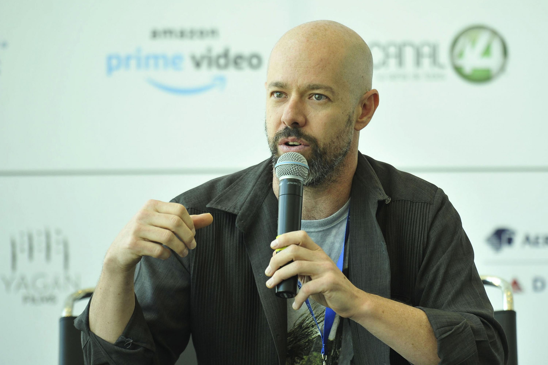 Alejandro Otaola, haciendo uso de la palabra