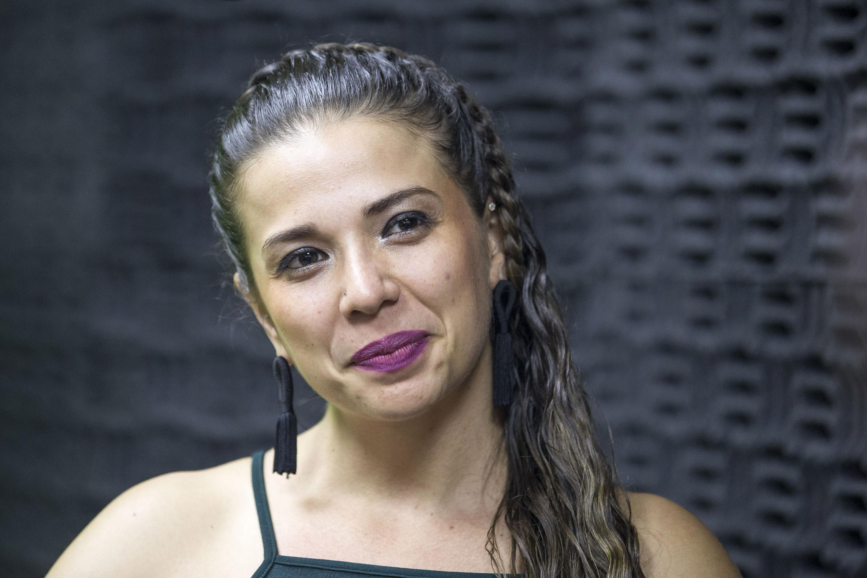 Cynthia Lorena Sepúlveda Vázquez, egresada de la licenciatura en Artes Escénicas para la Expresión Dancística del CUAAD y beneficiaria del apoyo.
