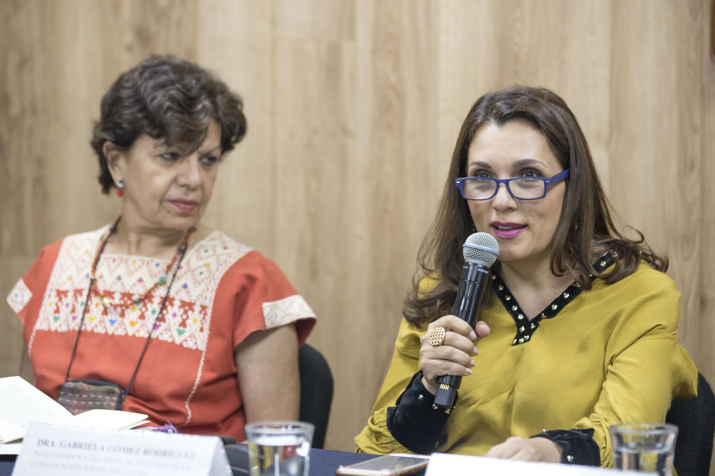 Editora de la publicación cuatrimestral, doctora Gabriela Gómez