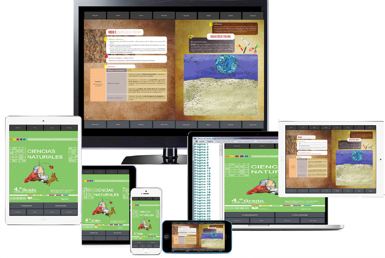 Prototipos de Libros de Texto Digitales Interactivos, en teléfonos celulares, tabletas y televisiones inteligentes: desarrollados por académicos y estudiantes del CUCosta, de la Universidad de Guadalajara.