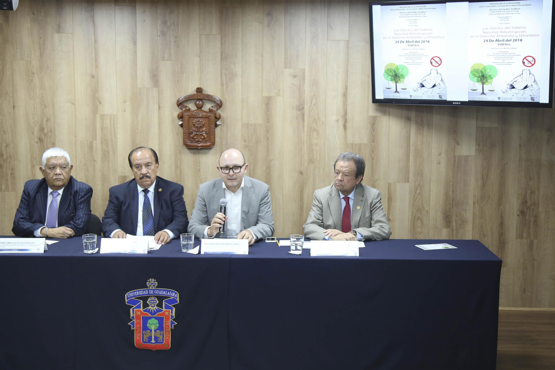"""Rueda de prensa para anunciar  el panel """"Los efectos del Sistema Anticorrupción en el derecho ambiental y urbanístico"""""""