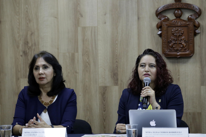 la maestra Elisa Cerros Rodríguez es  Jefa del Departamento de Trabajo Social del CUCSH